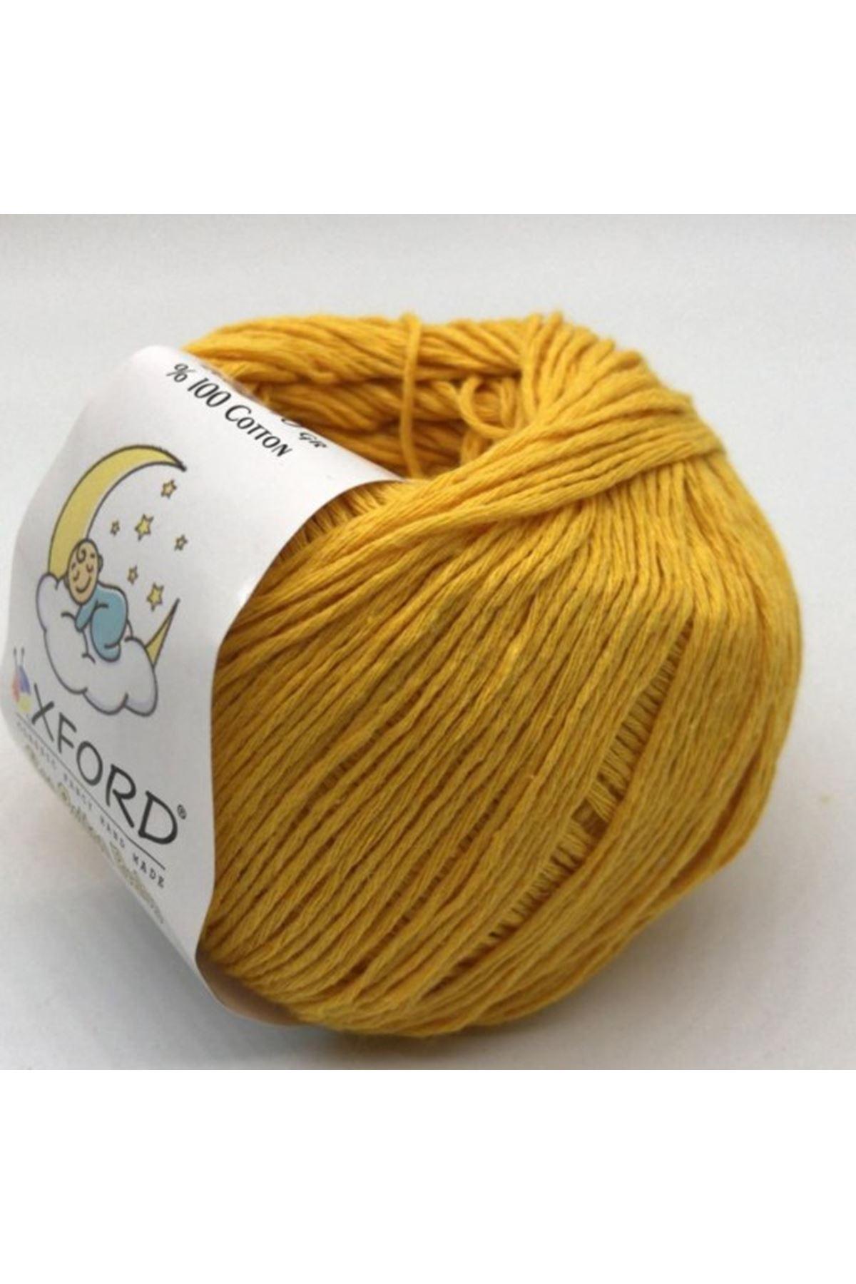 Eco Cotton Baby - 17800 Koyu Sarı