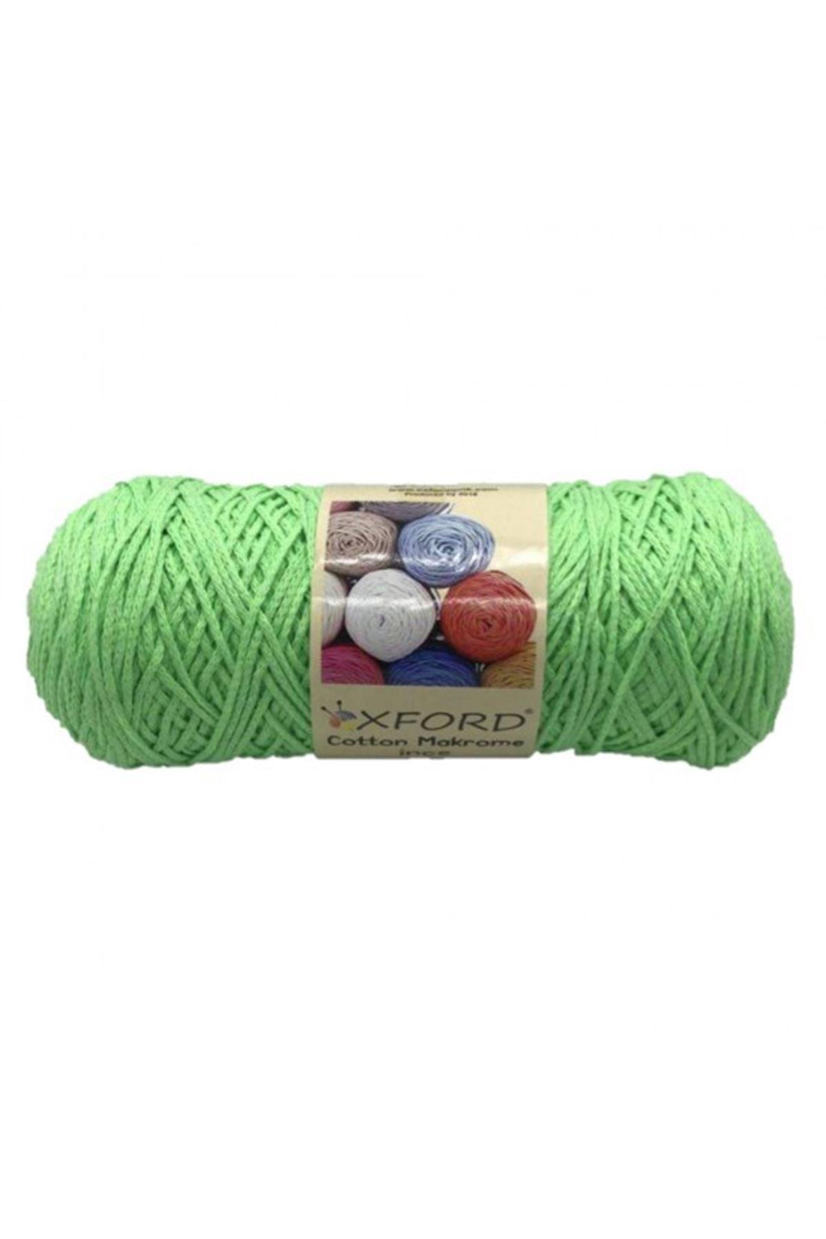 Cotton Makrome İnce - 40100 - Elma Yeşili