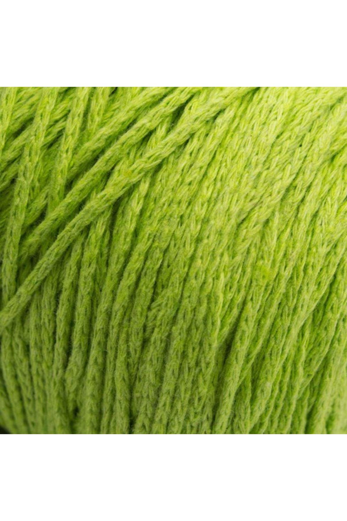 Cotton Makrome İnce - 40166 - Filiz Yeşili
