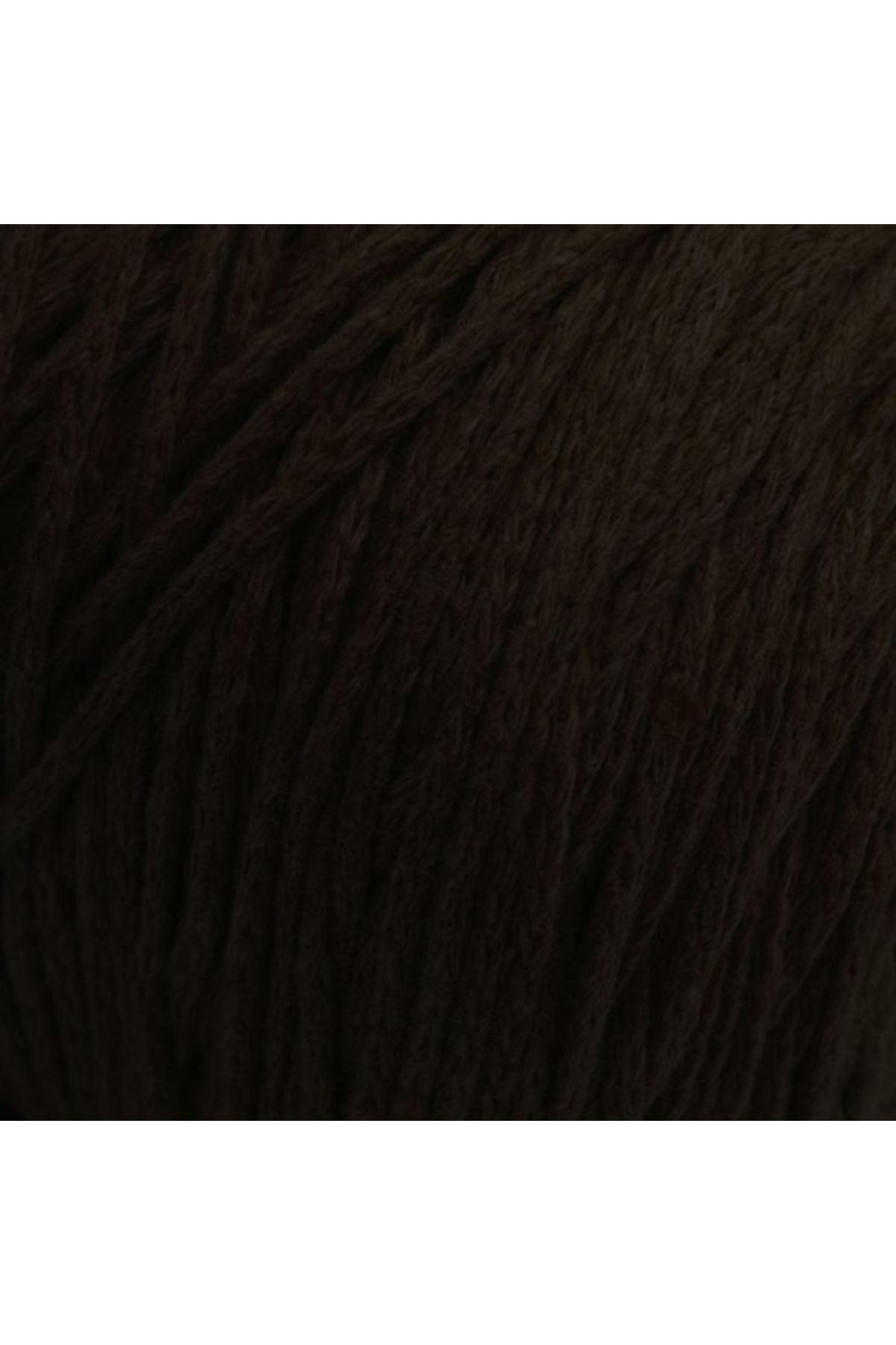 Cotton Makrome İnce - 51540 - Kahverengi