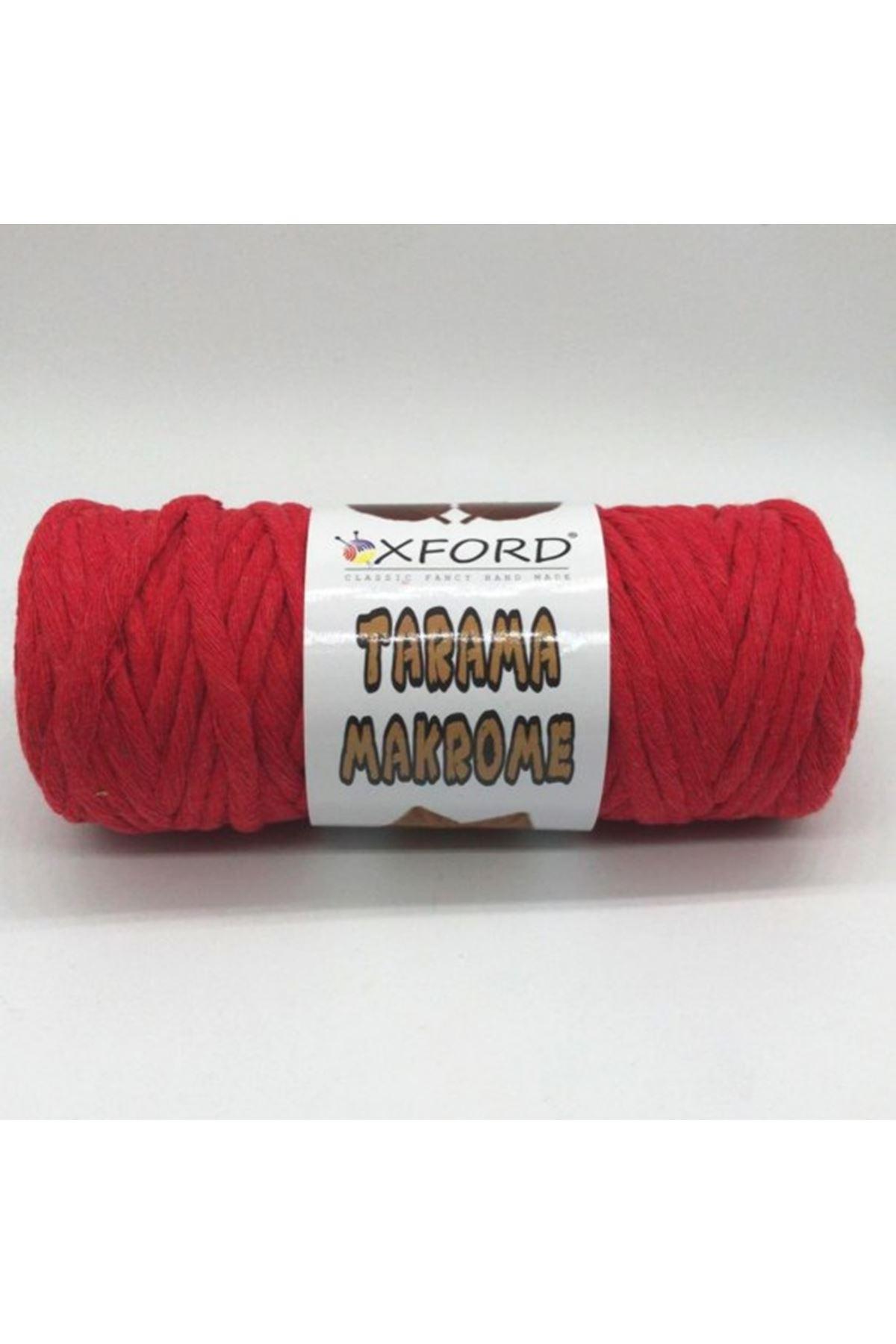 Tarama Makrome 5 mm - 011 Koyu Kırmızı