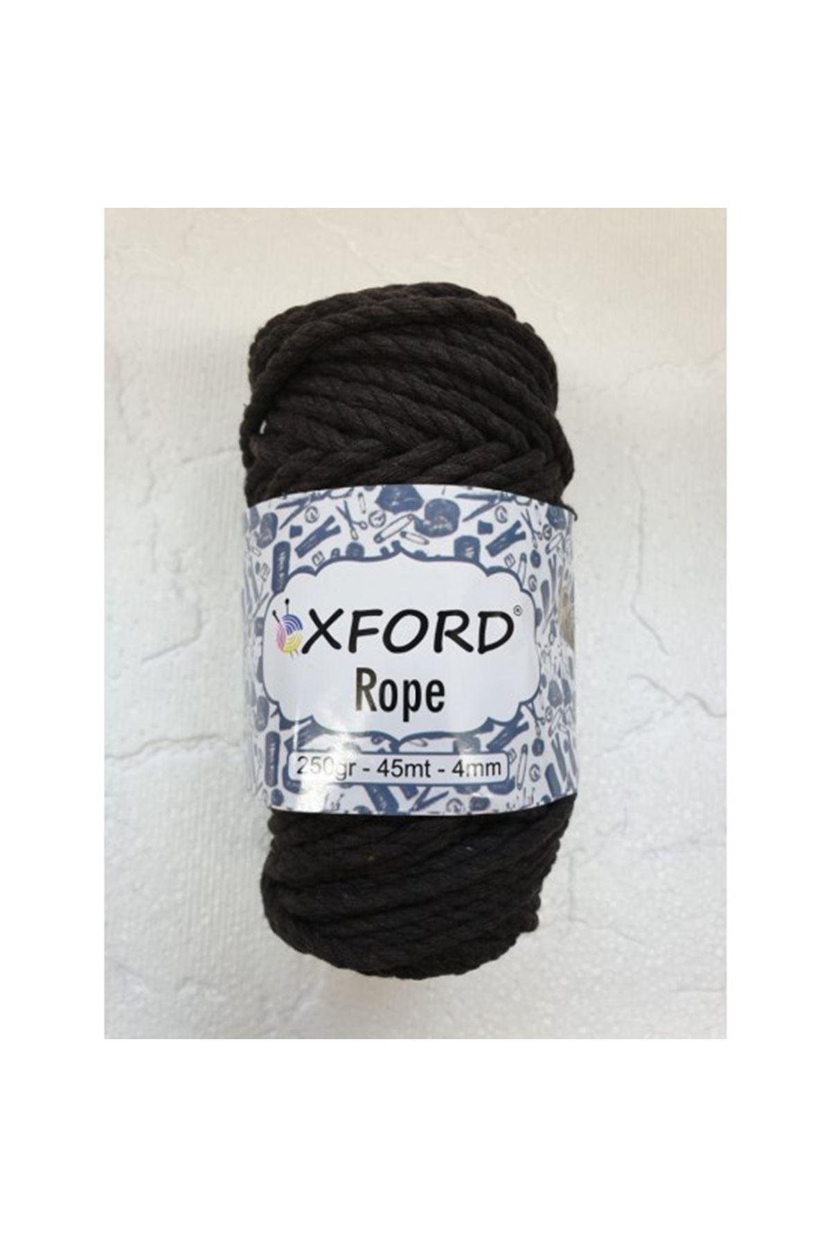 Oxford Rope 51540 Koyu Kahve