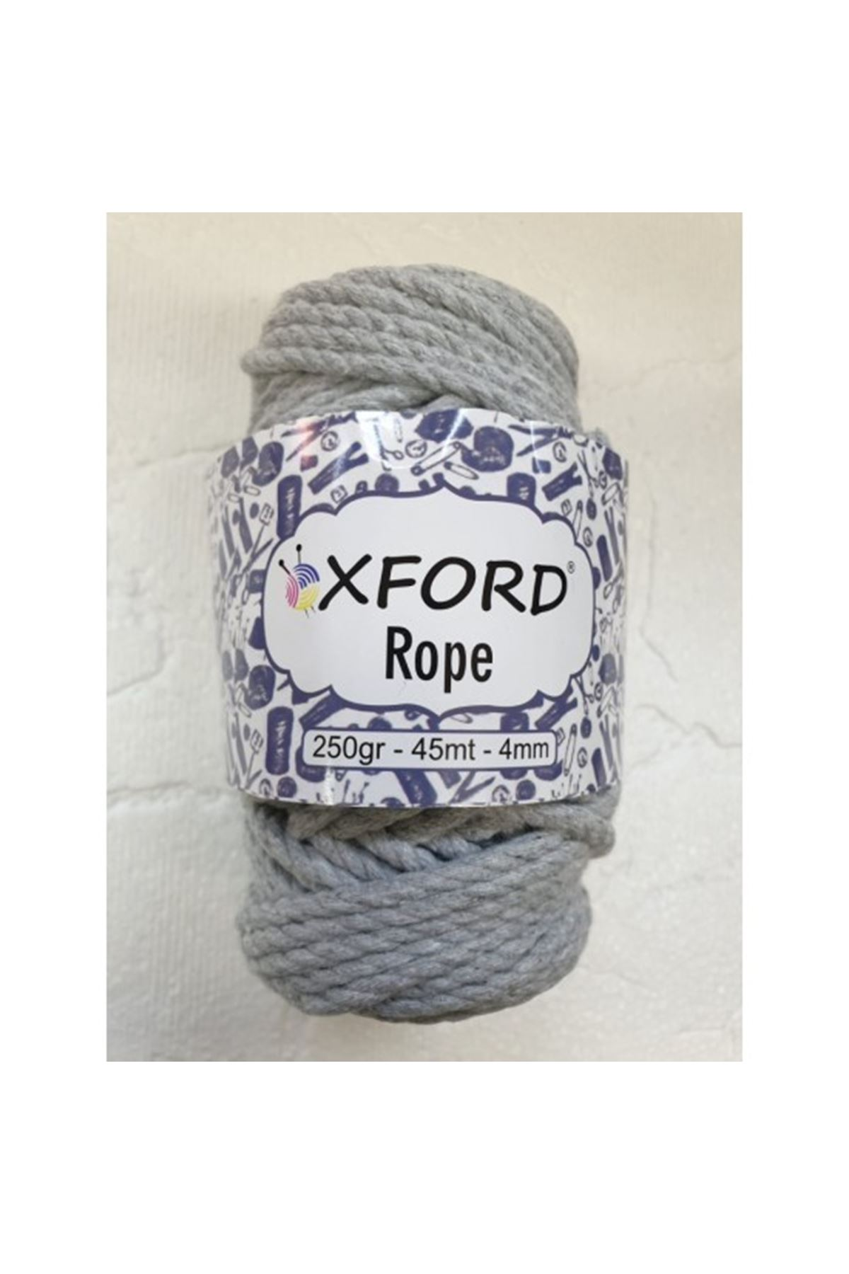 Oxford Rope 67310 Açık Gri