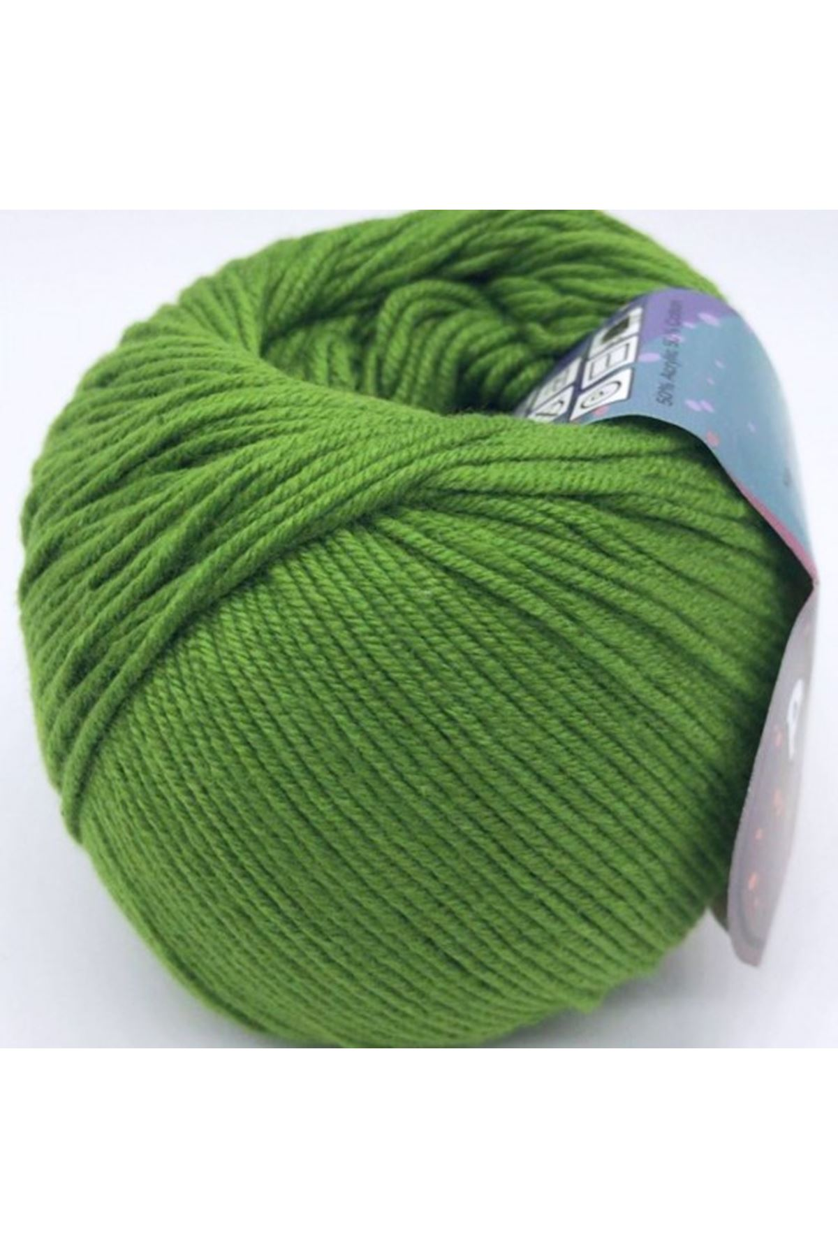 Peria Soft Cotton Amigurumi - 25 Benetton Yeşili