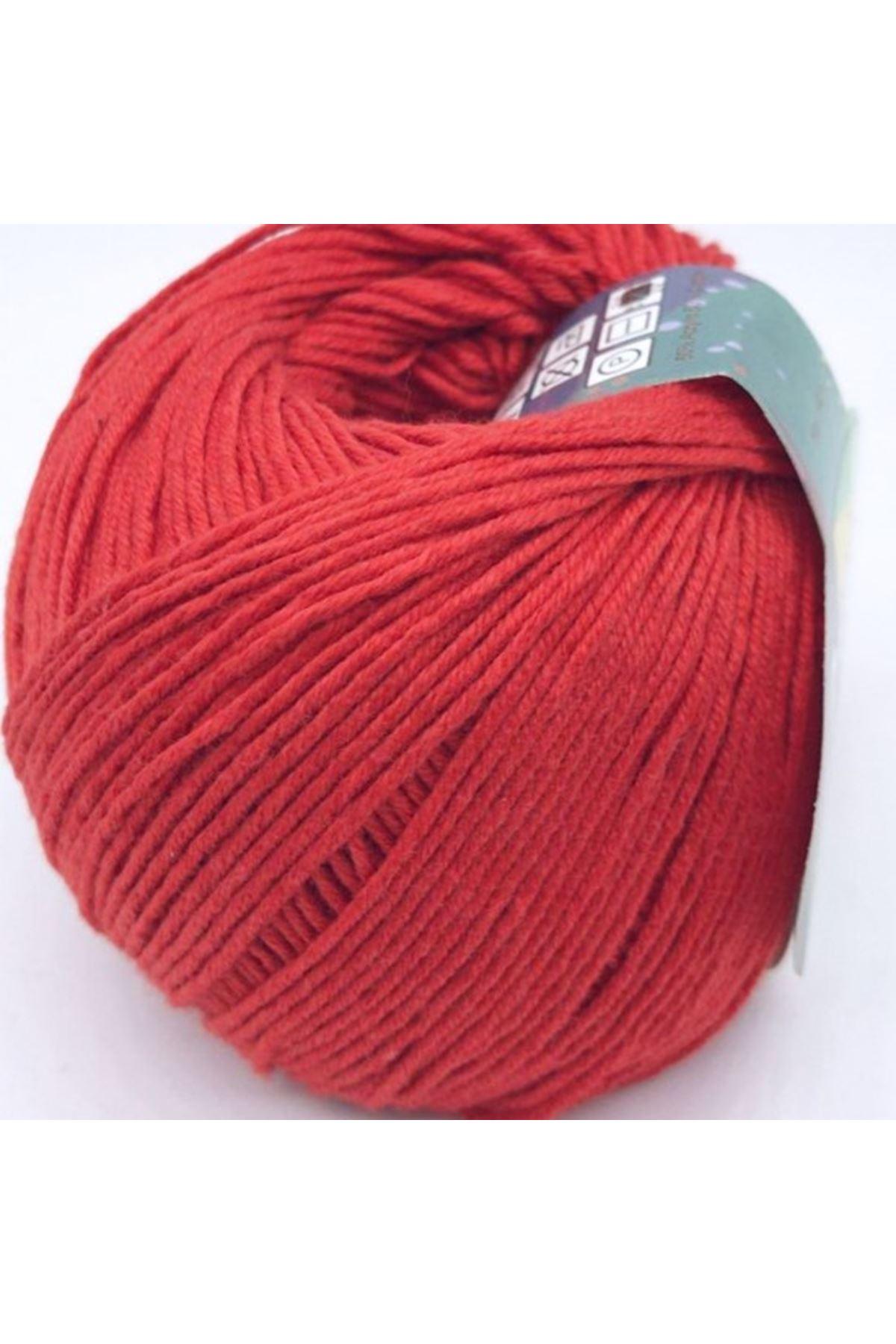 Peria Soft Cotton Amigurumi - 35 Açık Kırmızı