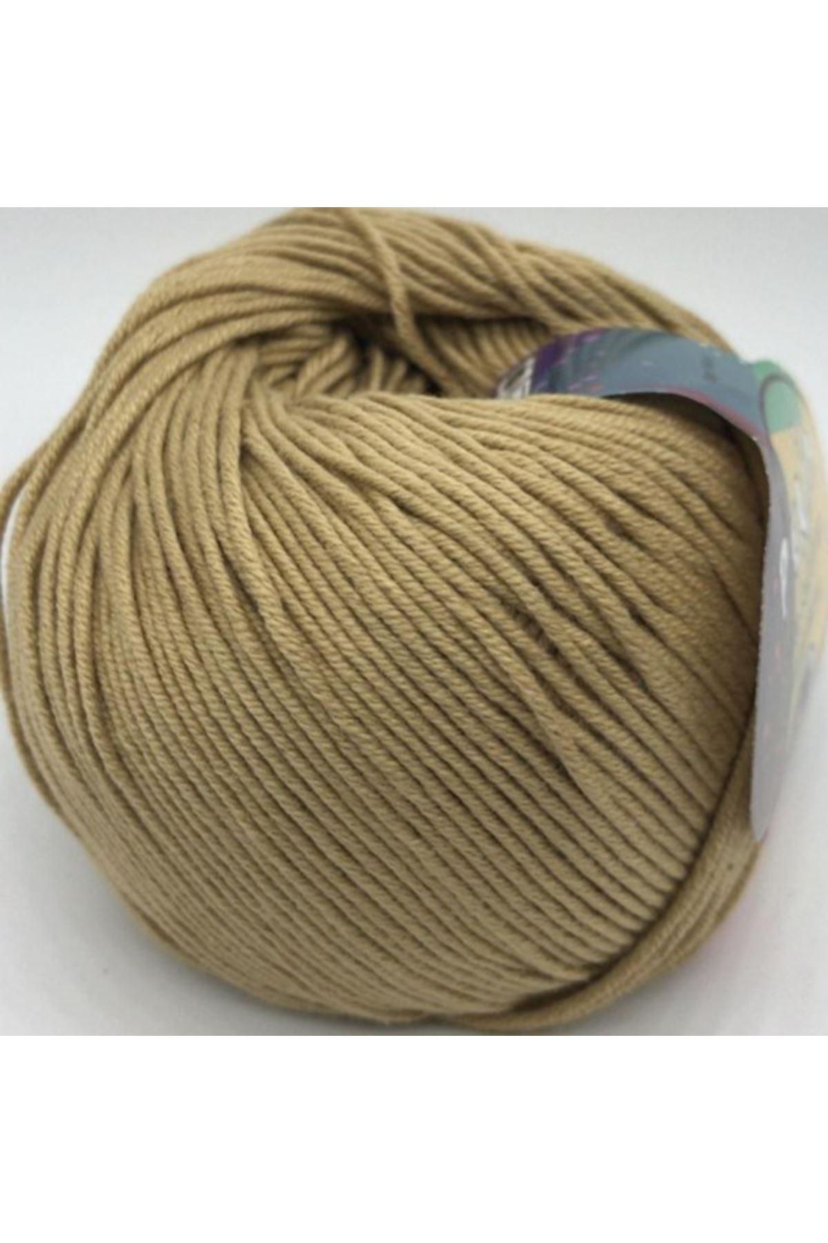 Peria Soft Cotton Amigurumi - 09 Açık Bej