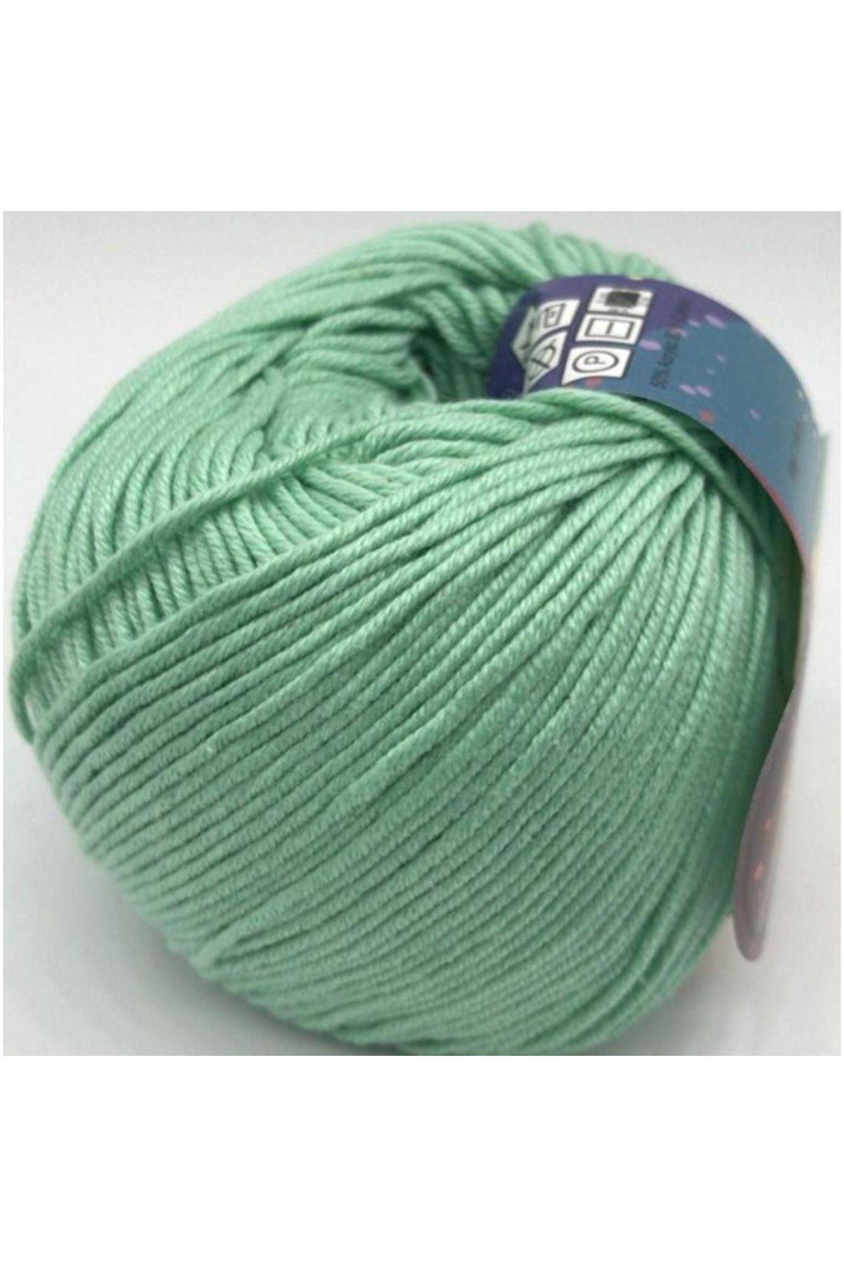 Peria Soft Cotton Amigurumi - 20 Bebe Yeşili