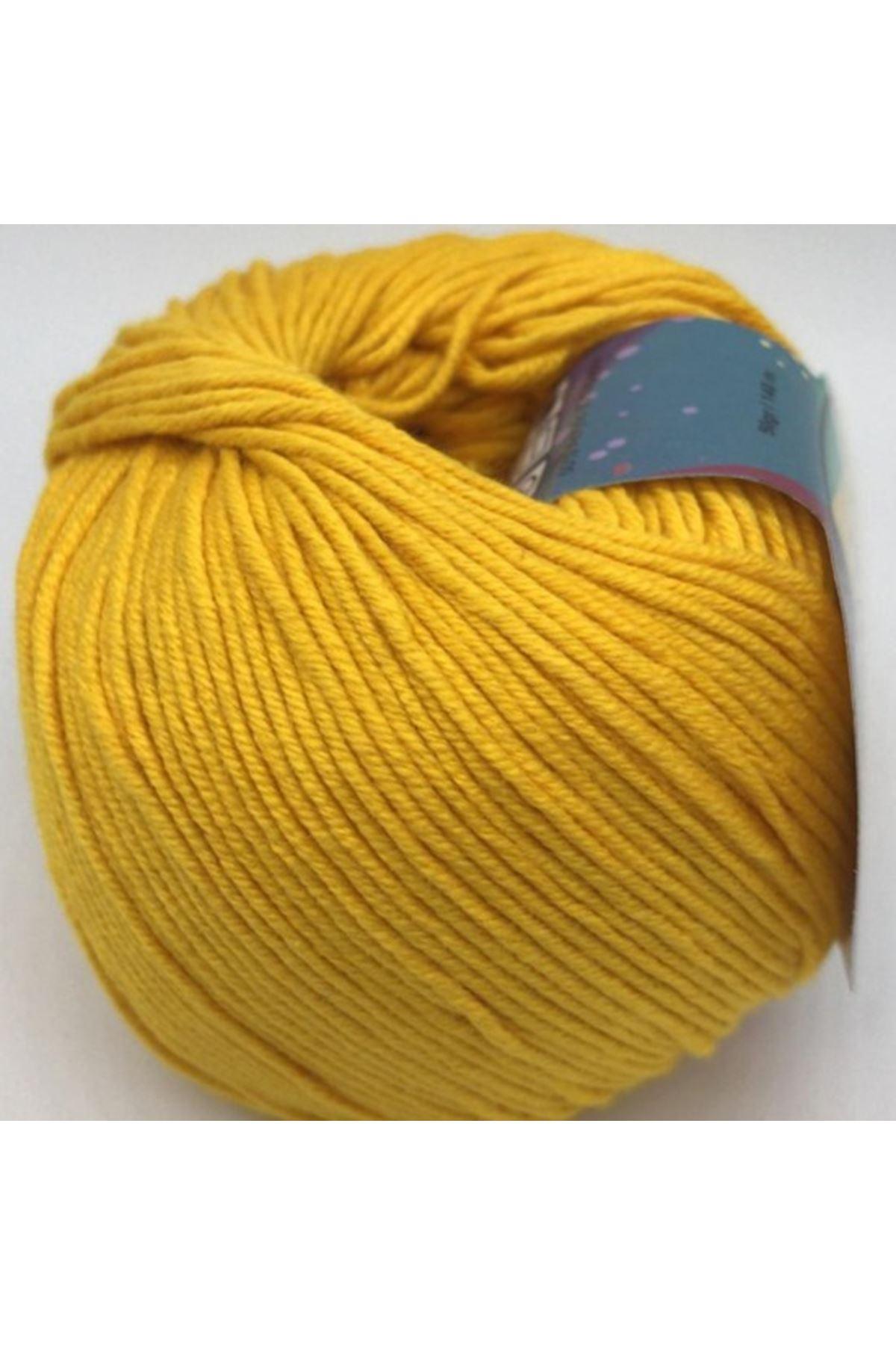 Peria Soft Cotton Amigurumi - 21 Koyu Sarı