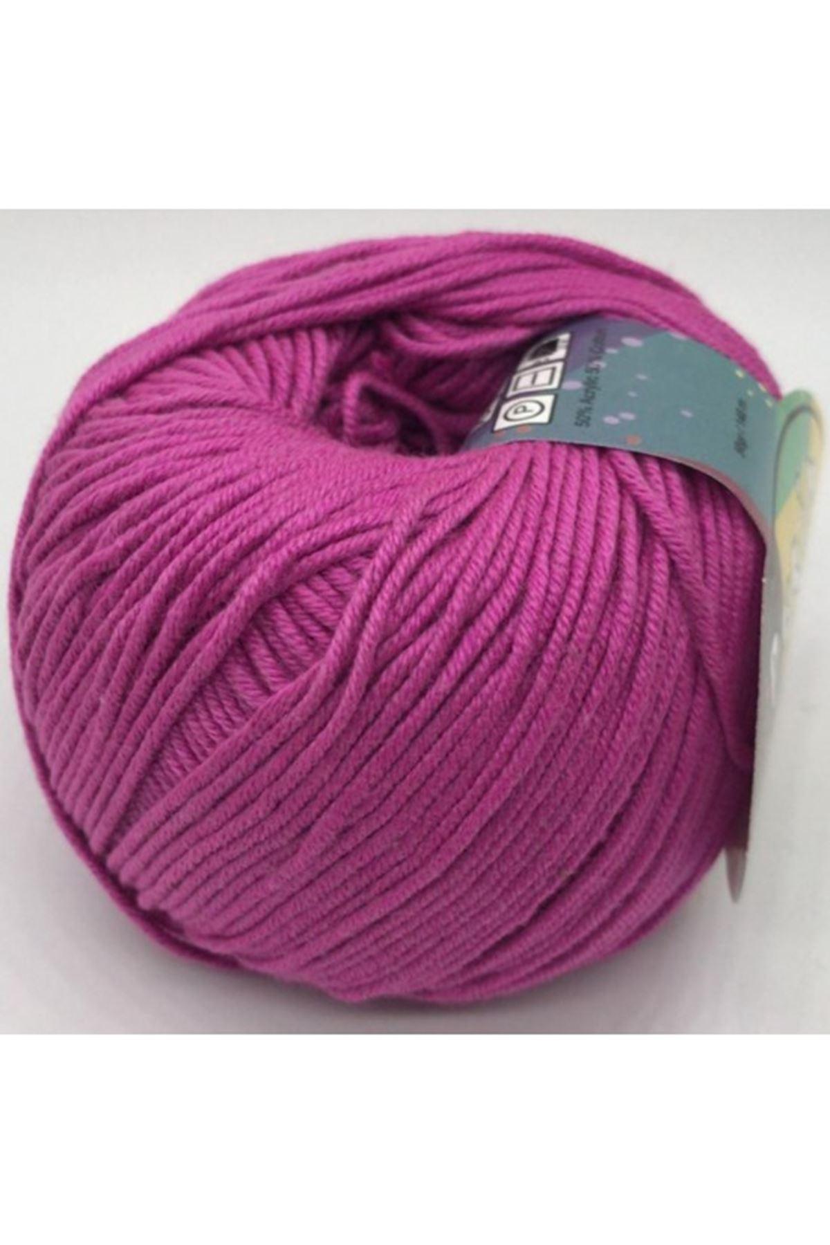 Peria Soft Cotton Amigurumi - 30 Lila Pembe
