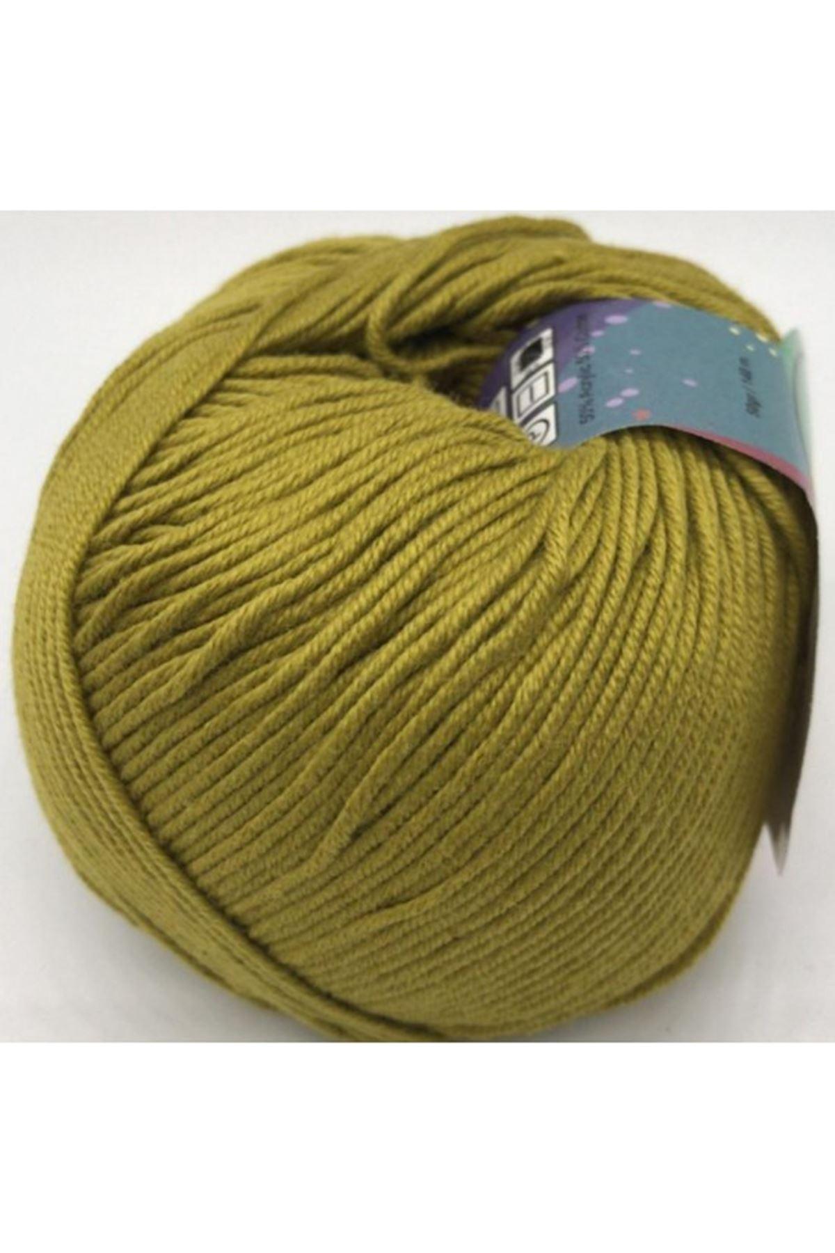 Peria Soft Cotton Amigurumi - 32 Kına Yeşili