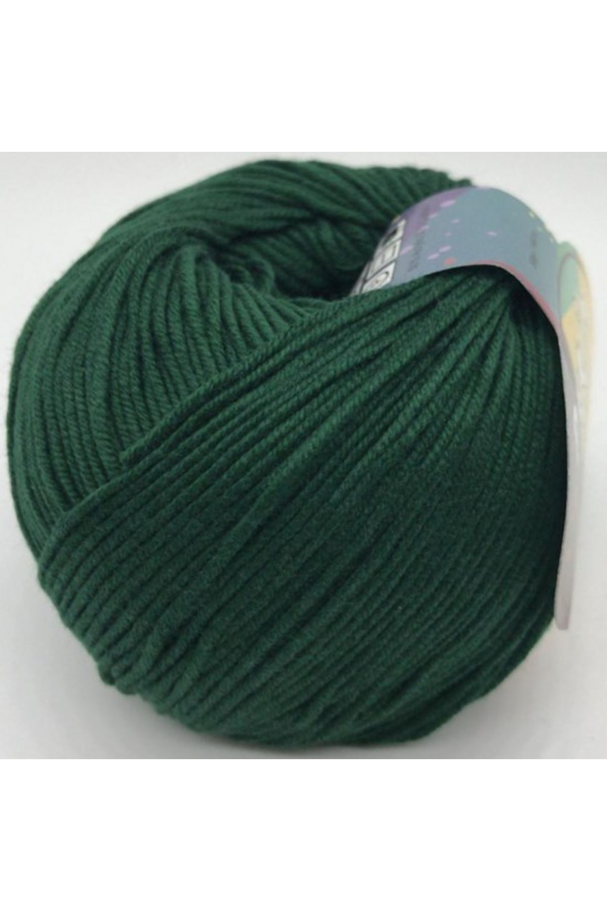 Peria Soft Cotton Amigurumi - 43 Zümrüt Yeşili