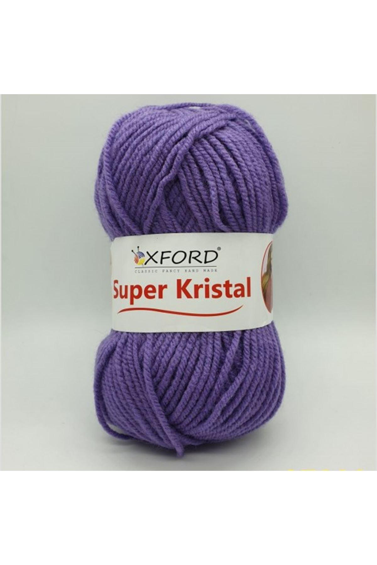 Süper Kristal - 37380 Açık Mor