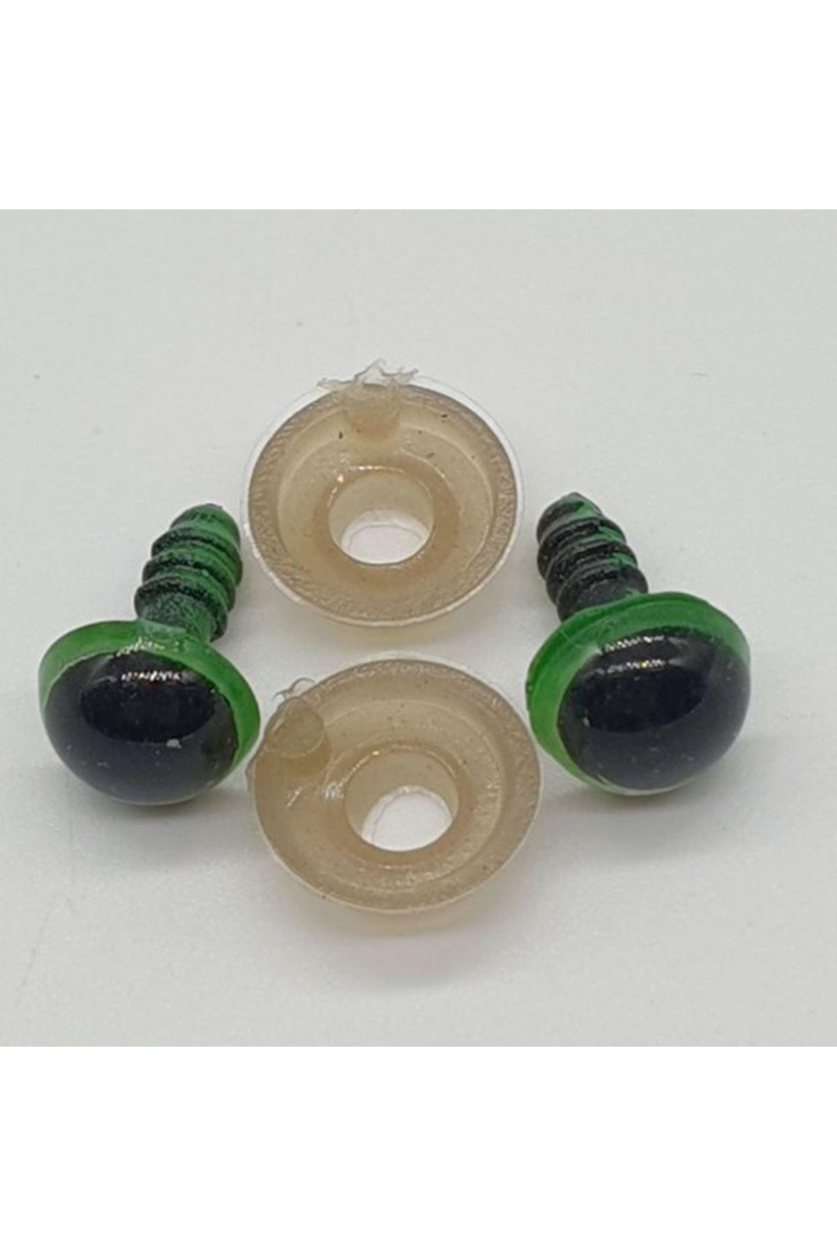Amigurumi Göz 8 mm Yeşil