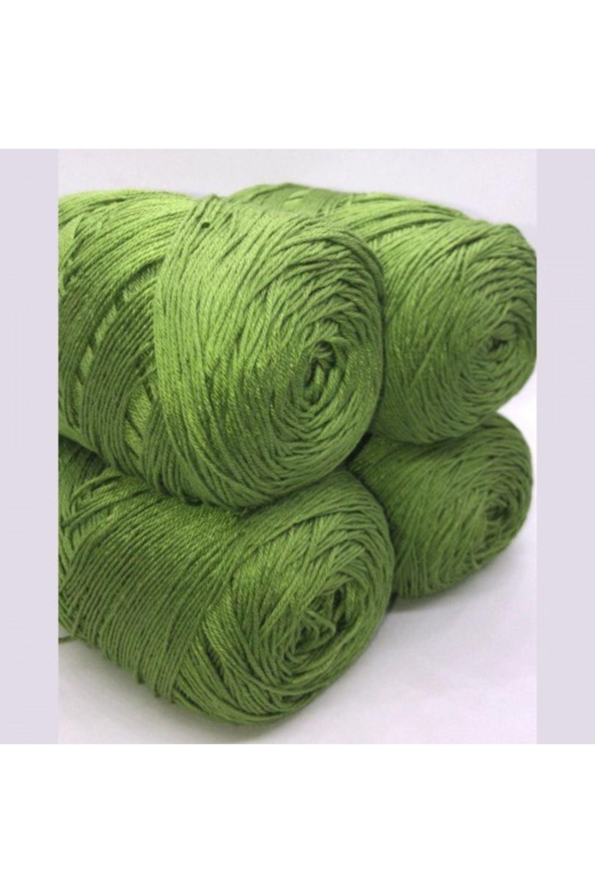 Akrilik Merserize Renk No: 003 Yeşil