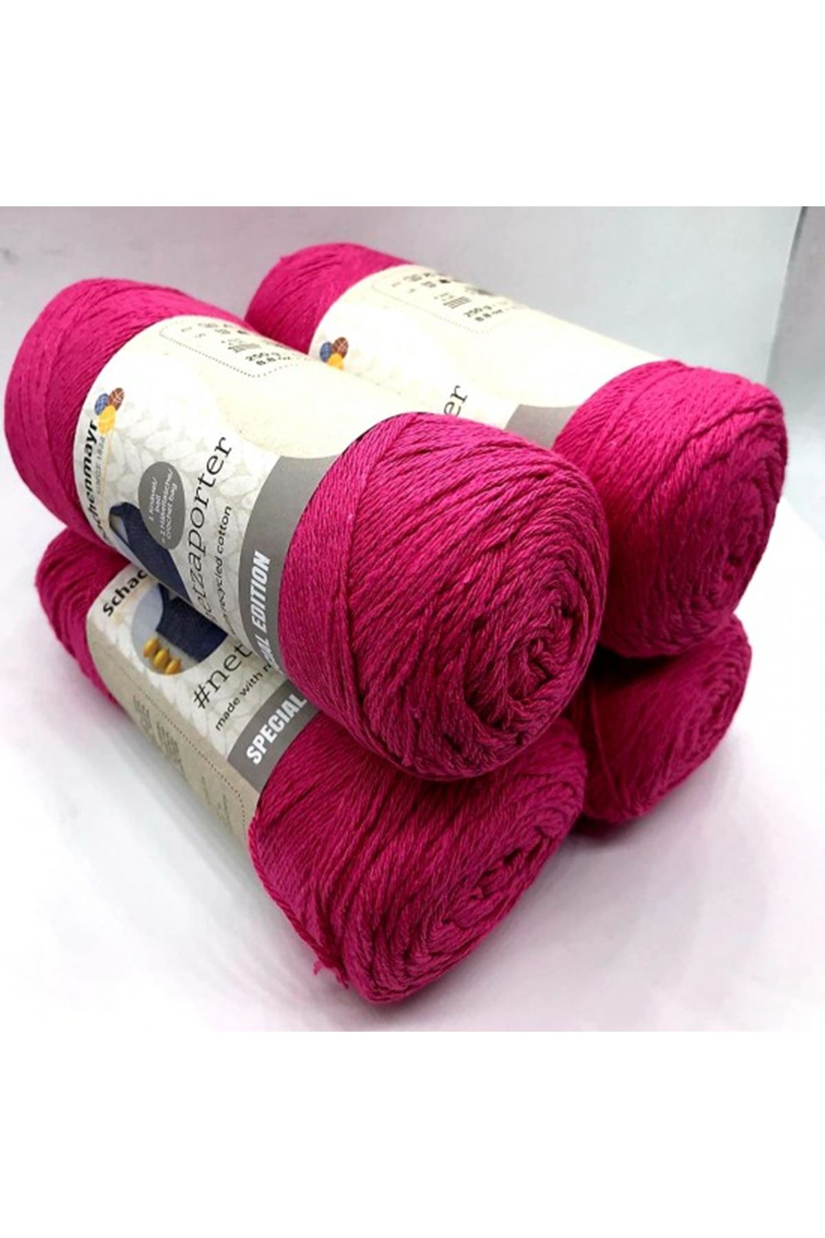 1 Kilo Cotton İp 7 Fuşya
