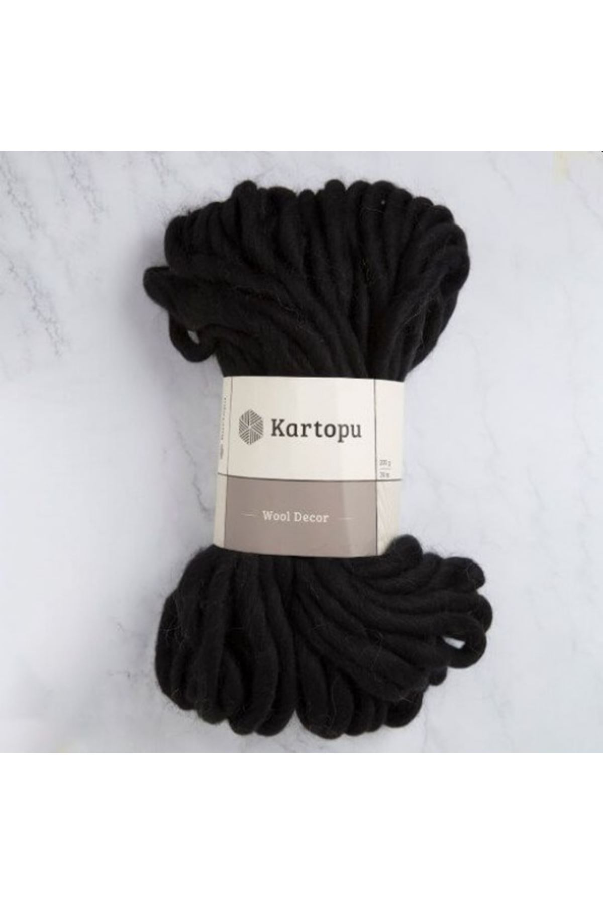 Kartopu Wool Decor K1940 - Siyah