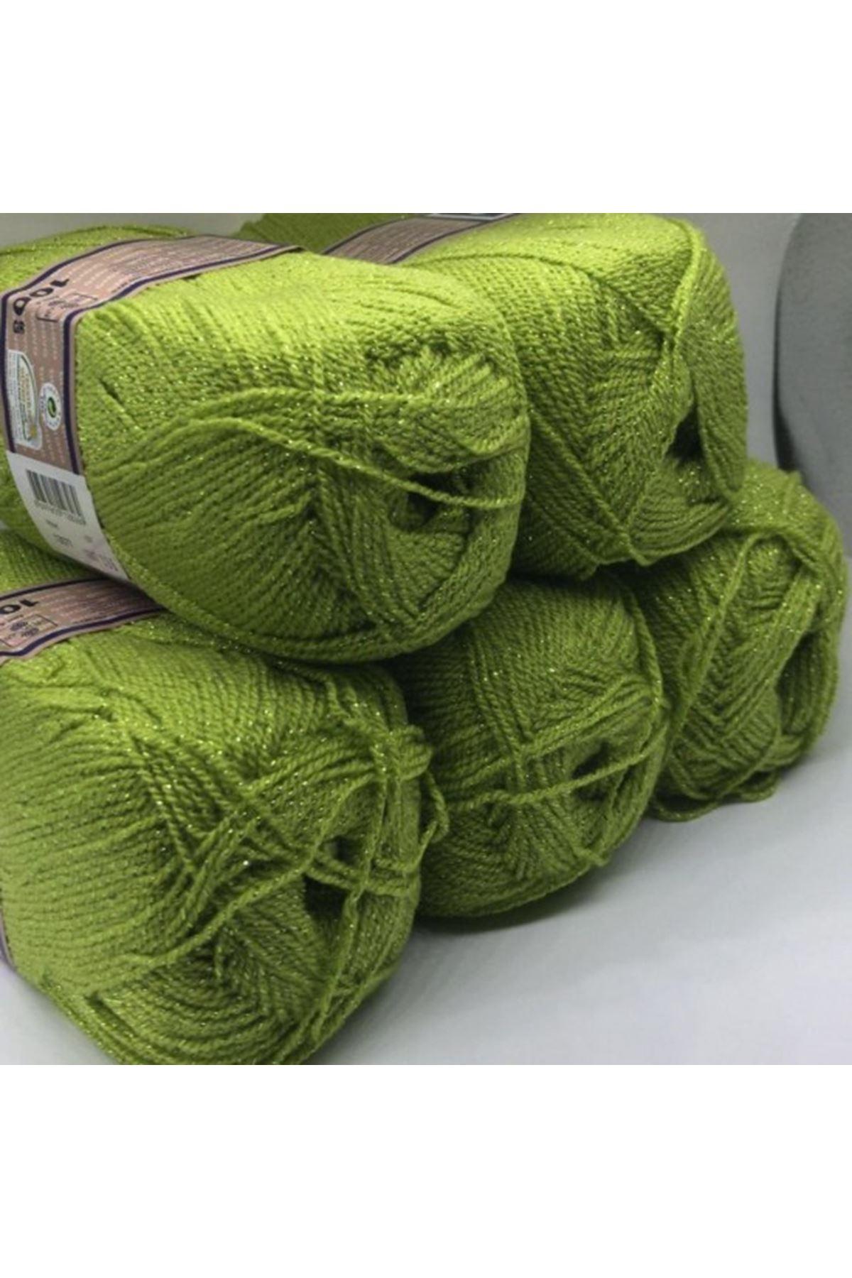Simli Paket 3 - Yaprak Yeşili