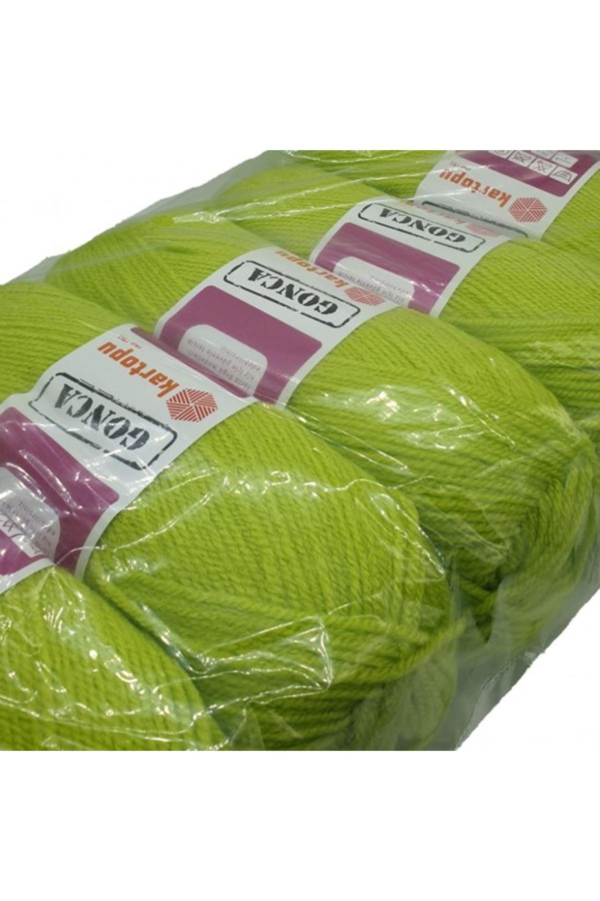 KARTOPU GONCA 5li paket K369 Neon Yeşil