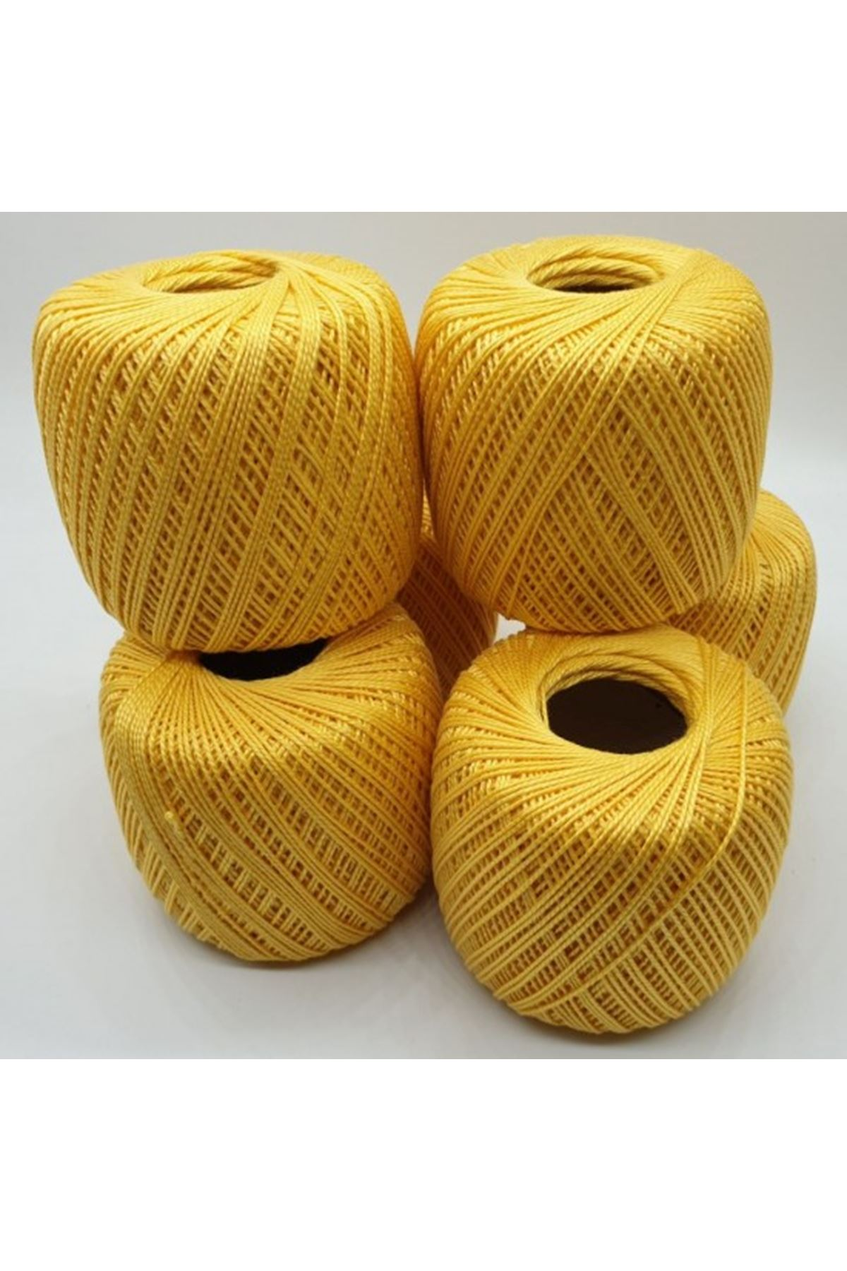 Merserize 6'lı Paket 1061 Sarı