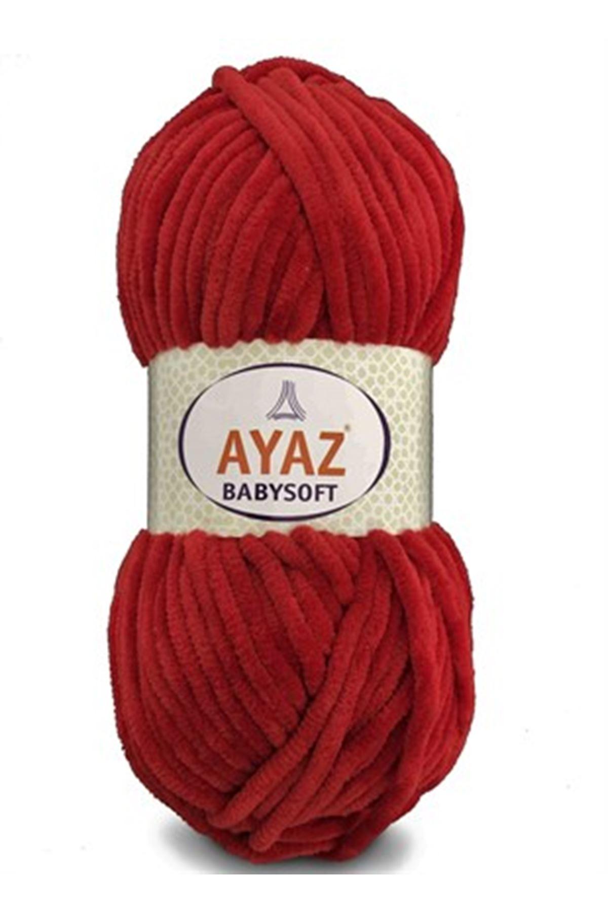 Ayaz Babysoft Kadife 1251 Kırmızı