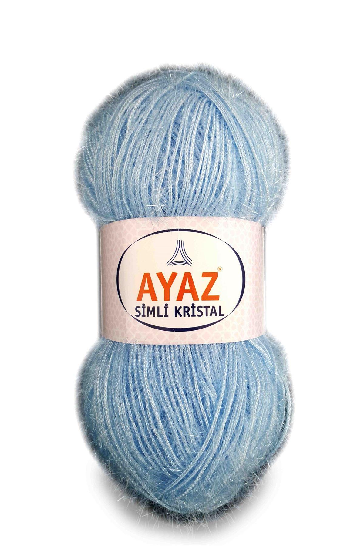 Ayaz Simli Kristal 1076 - Açık Mavi