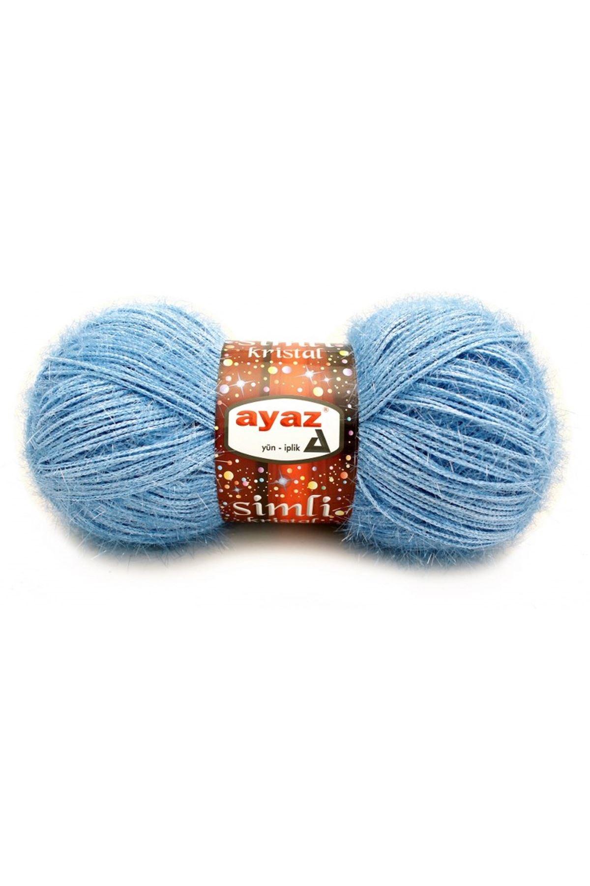 Ayaz Simli Kristal 1214 - Bebe Mavi