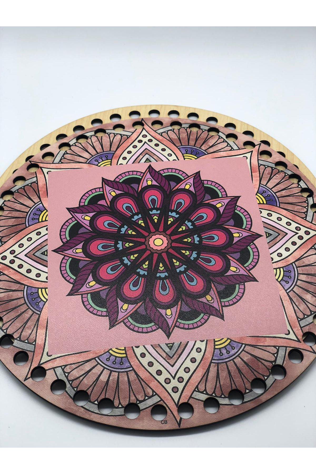 Desenli Çanta Tabanı 20cm Çap - 2
