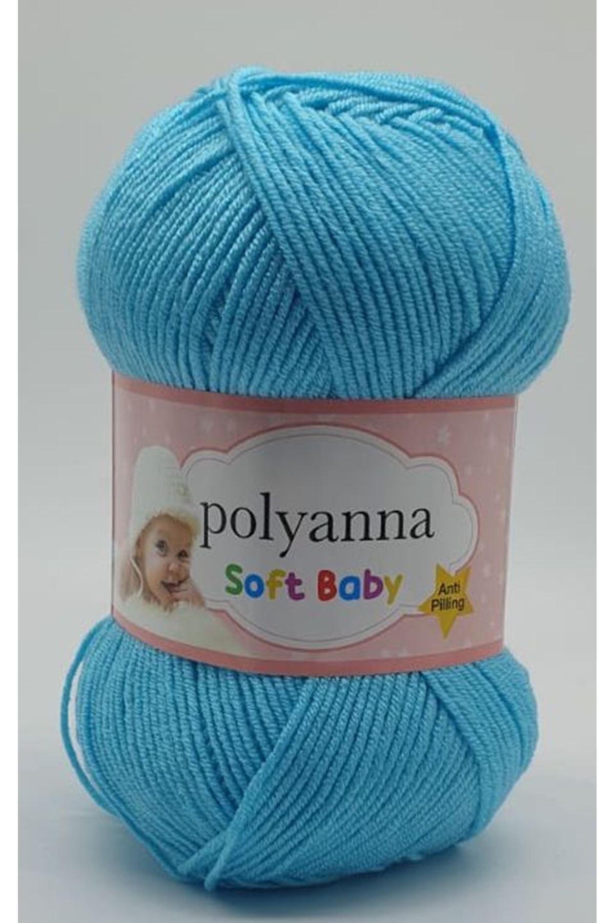 Polyanna Soft Baby 137 Turkuaz Mavi