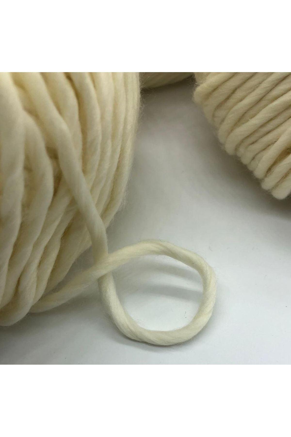 İhrac Fazlası 4'lü Paket 600 gram Kazaklık Akrilik 965 Krem