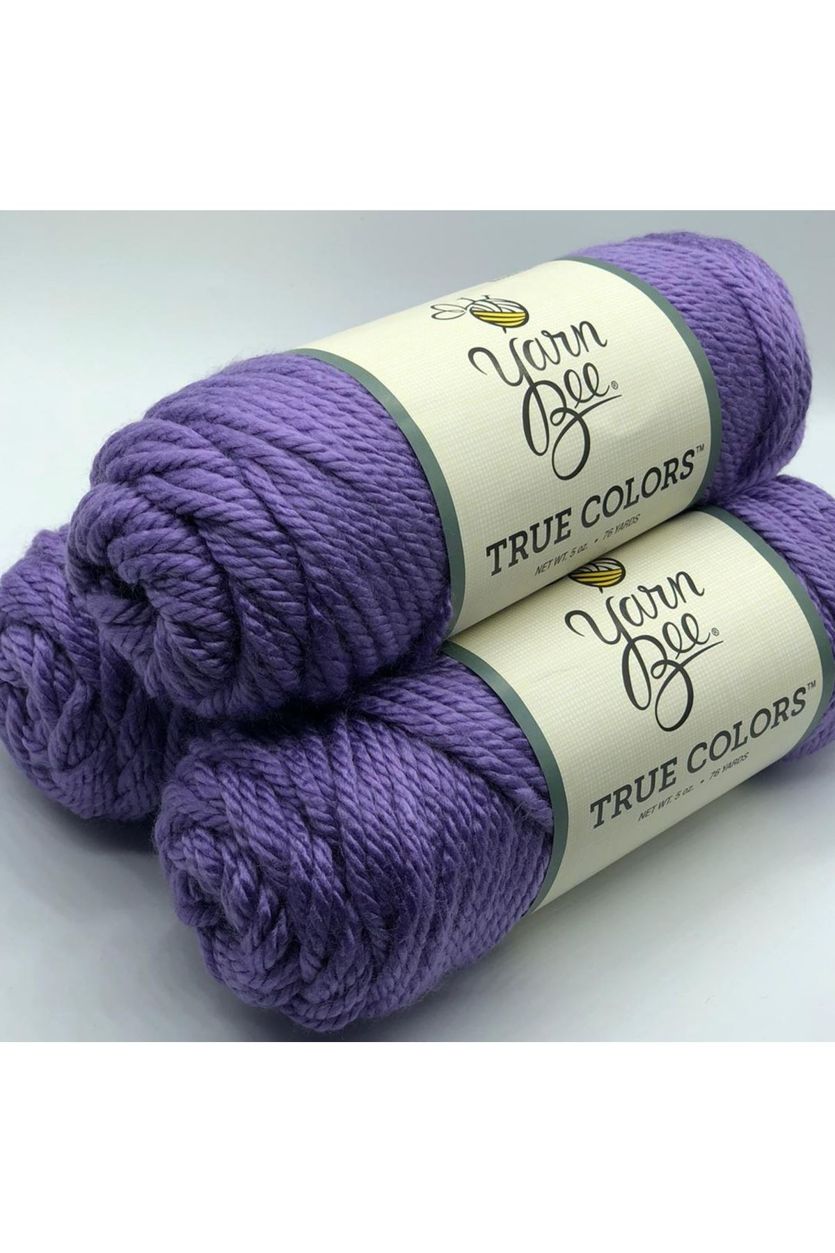 3'lü Paket Orijinal YarnBee True Colors 998 Mor