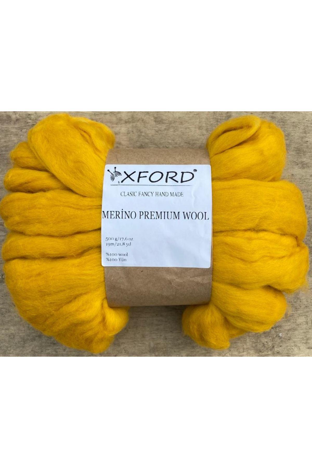 Oxford Merino Premium Wool 03 Kirli Sarı