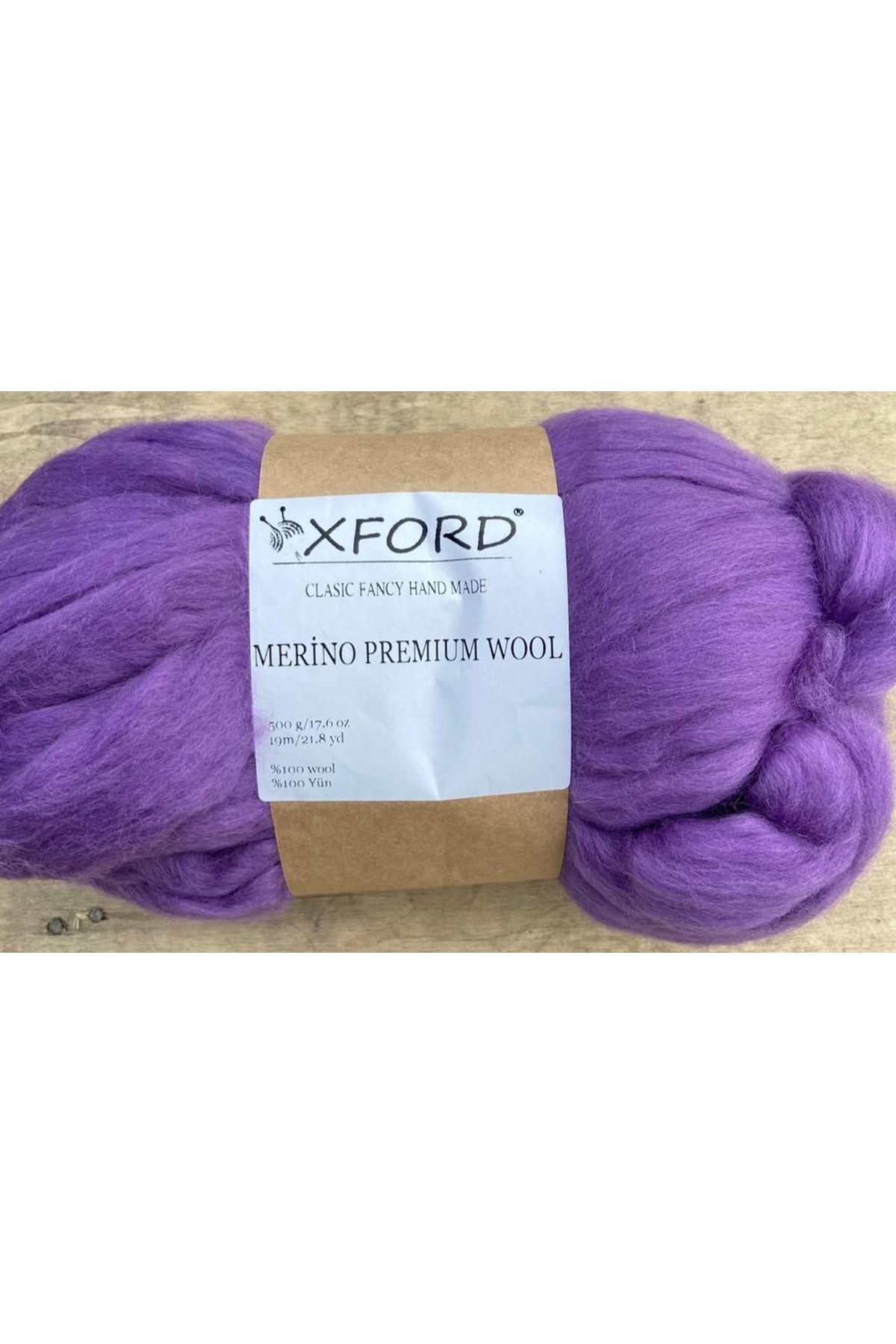 Oxford Merino Premium Wool 04 Mor