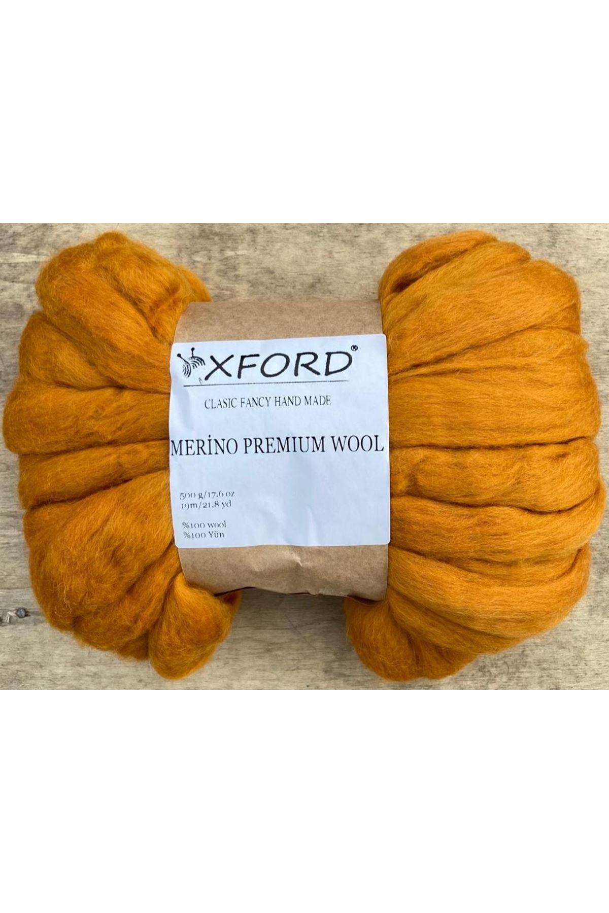 Oxford Merino Premium Wool 08 - Balkabağı