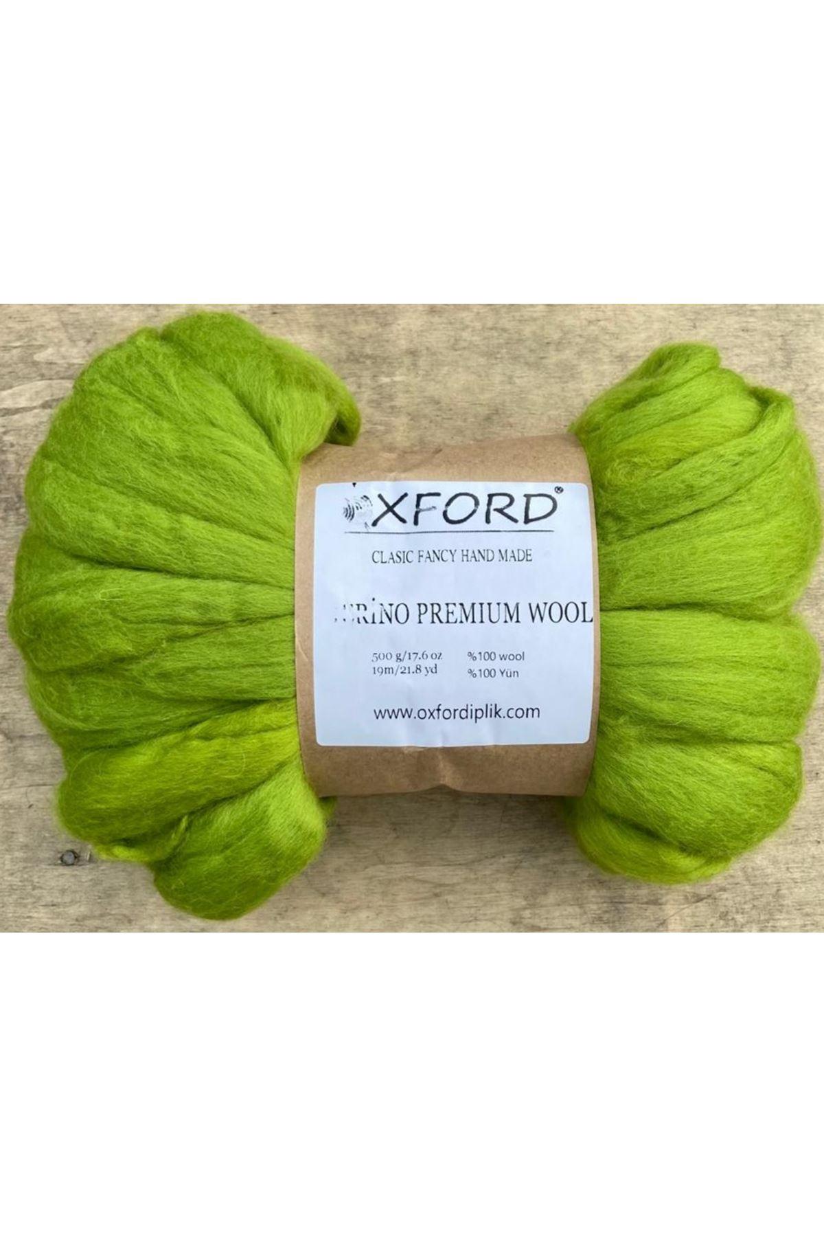 Oxford Merino Premium Wool 10 - Filiz