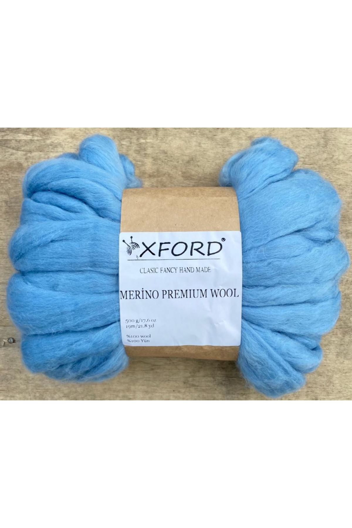 Oxford Merino Premium Wool 05 Açık Mavi