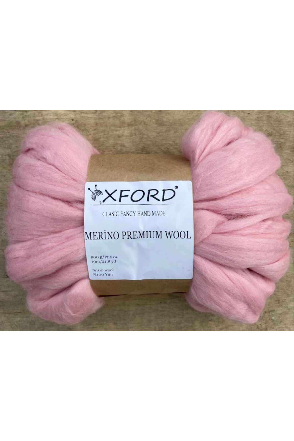 Oxford Merino Premium Wool 07 Pembe