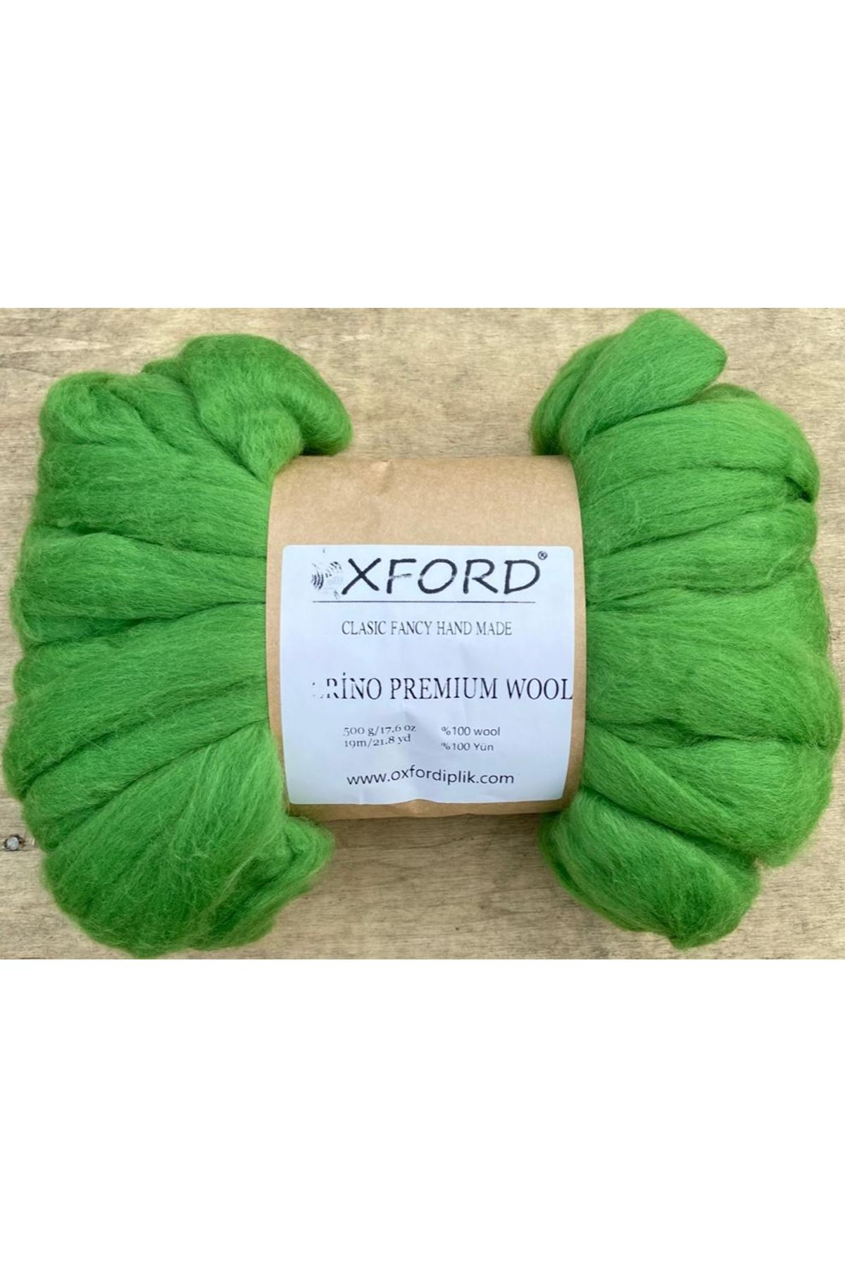 Oxford Merino Premium Wool 15 - Yeşil