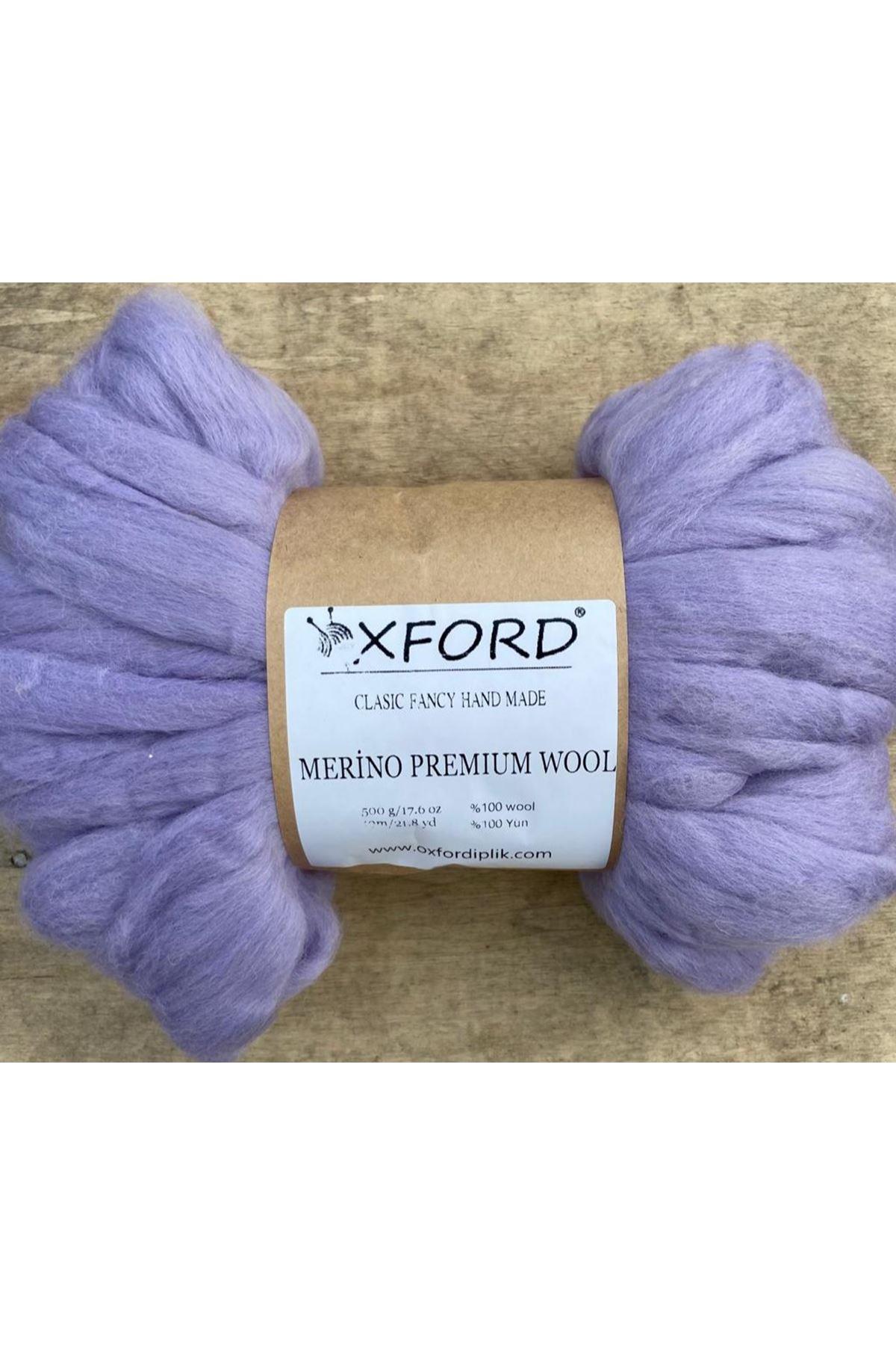 Oxford Merino Premium Wool 14 - Lila