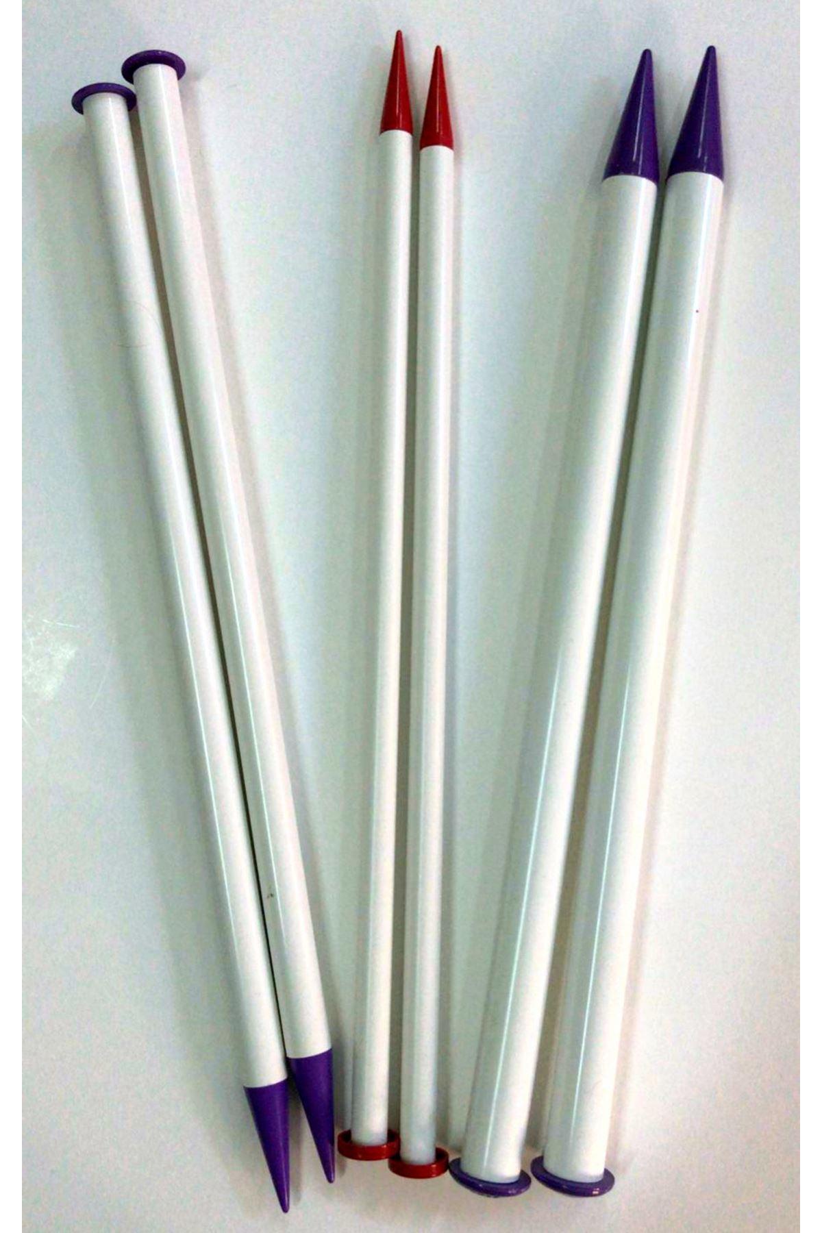 Kalın Plastik Şiş 40 cm 20mm