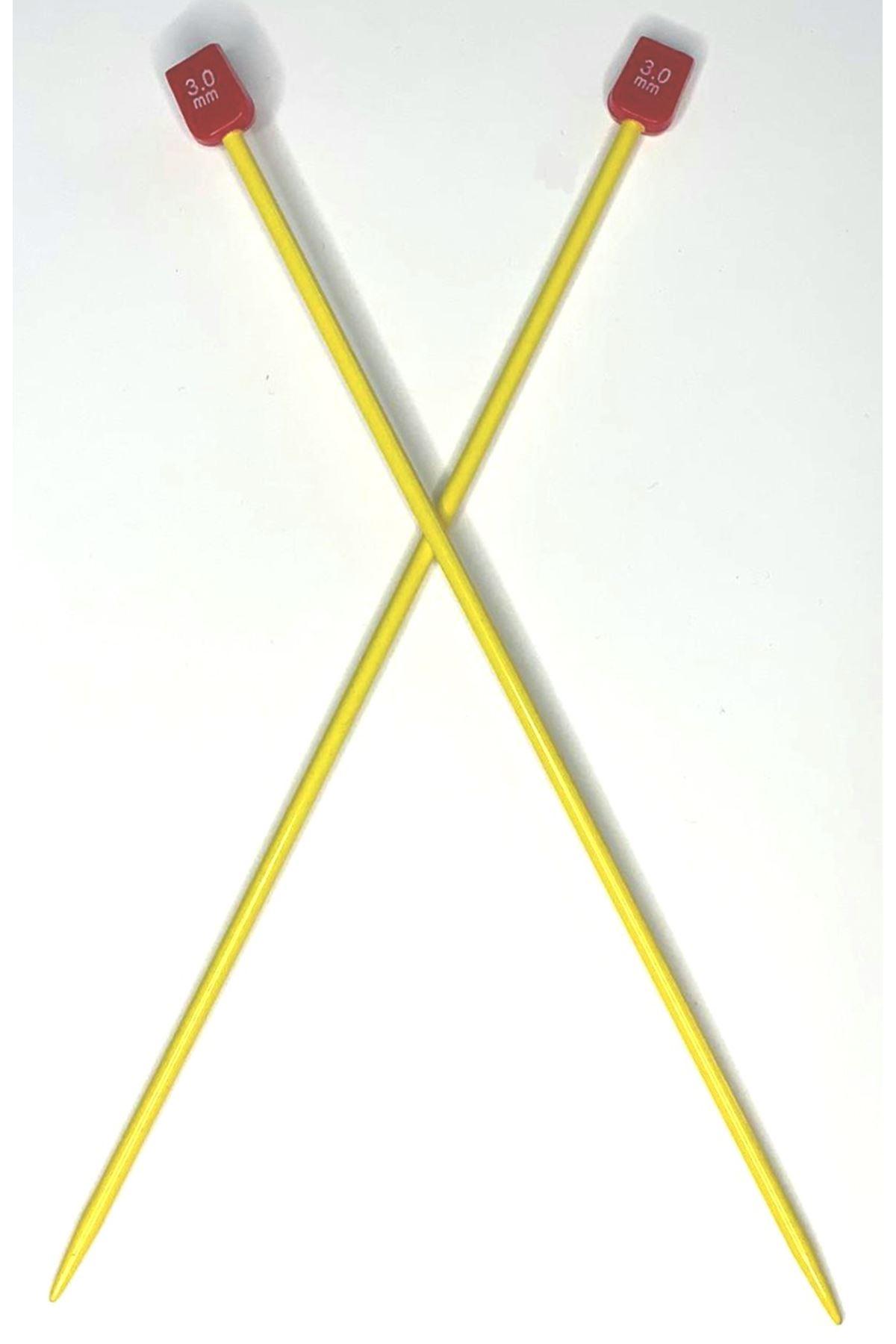 Renkli Metal Kısa Çocuk Şişi 5 mm
