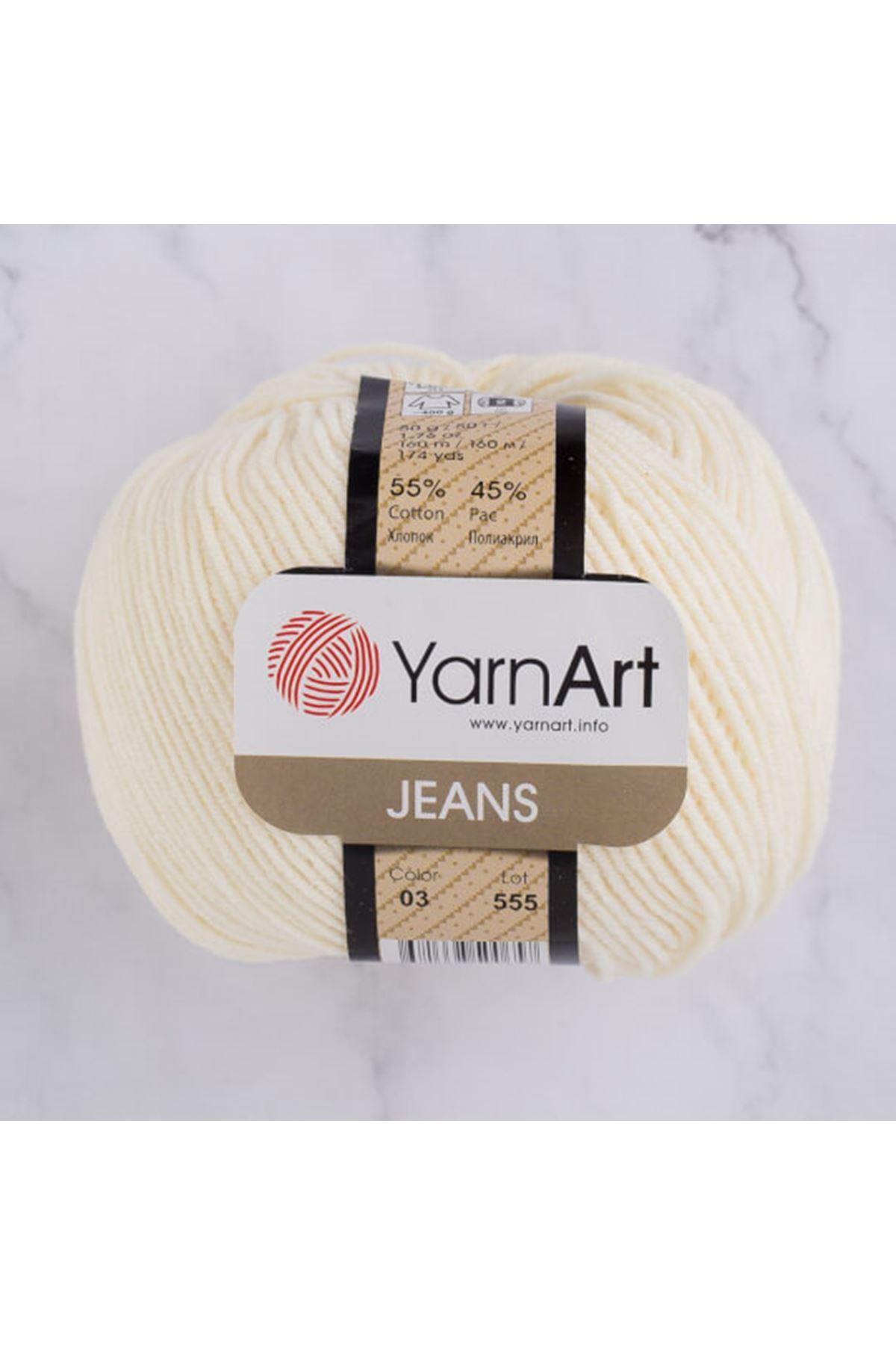 Yarnart Jeans 03 Krem
