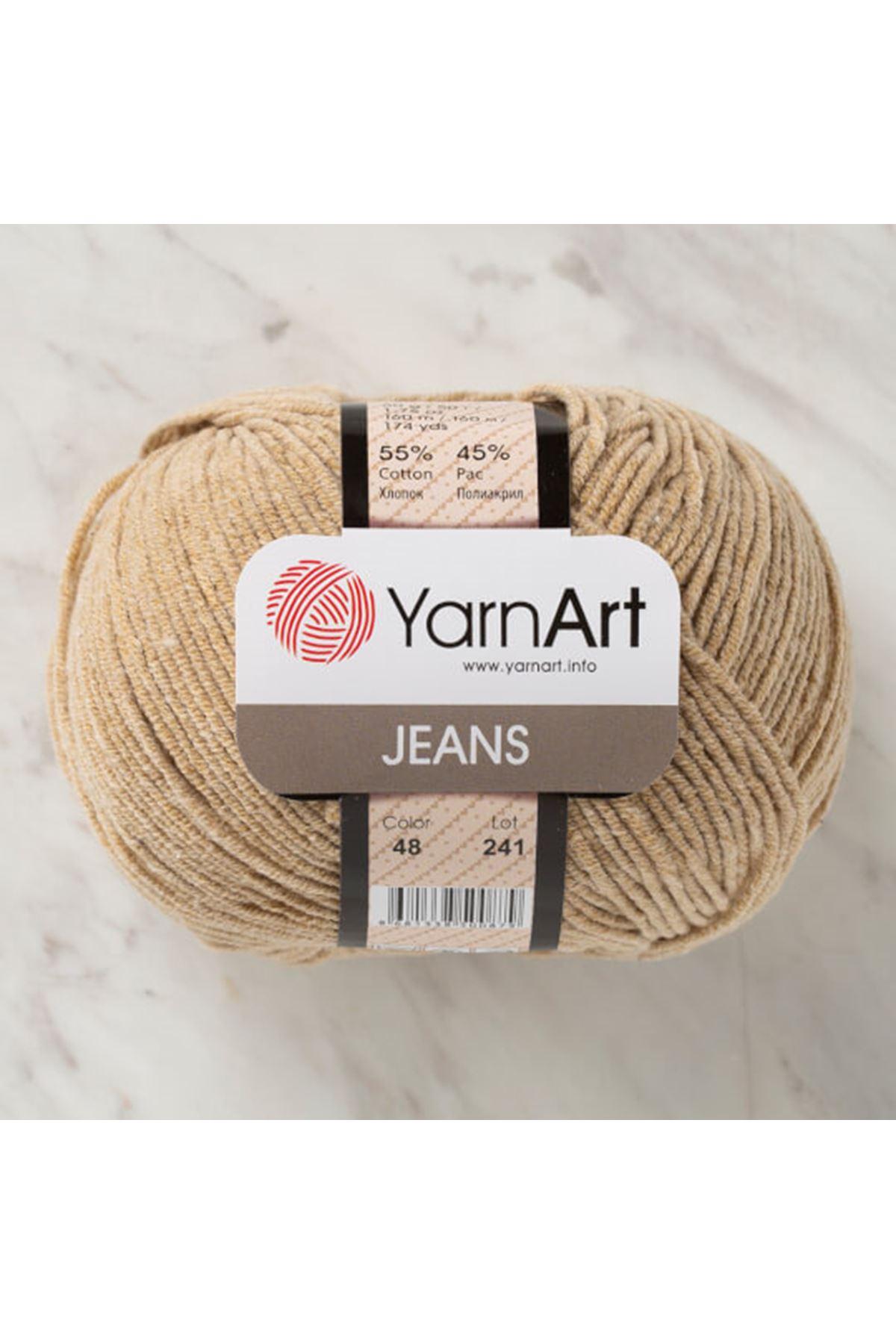 Yarnart Jeans 48 Latte