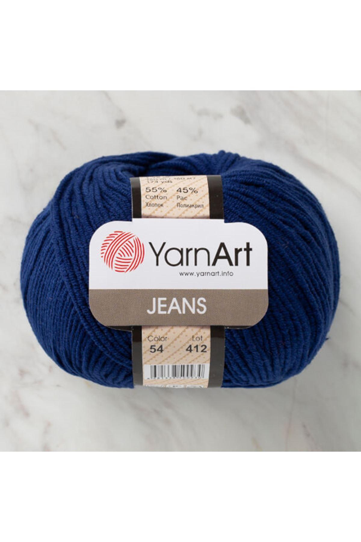 Yarnart Jeans 54 Lacivert