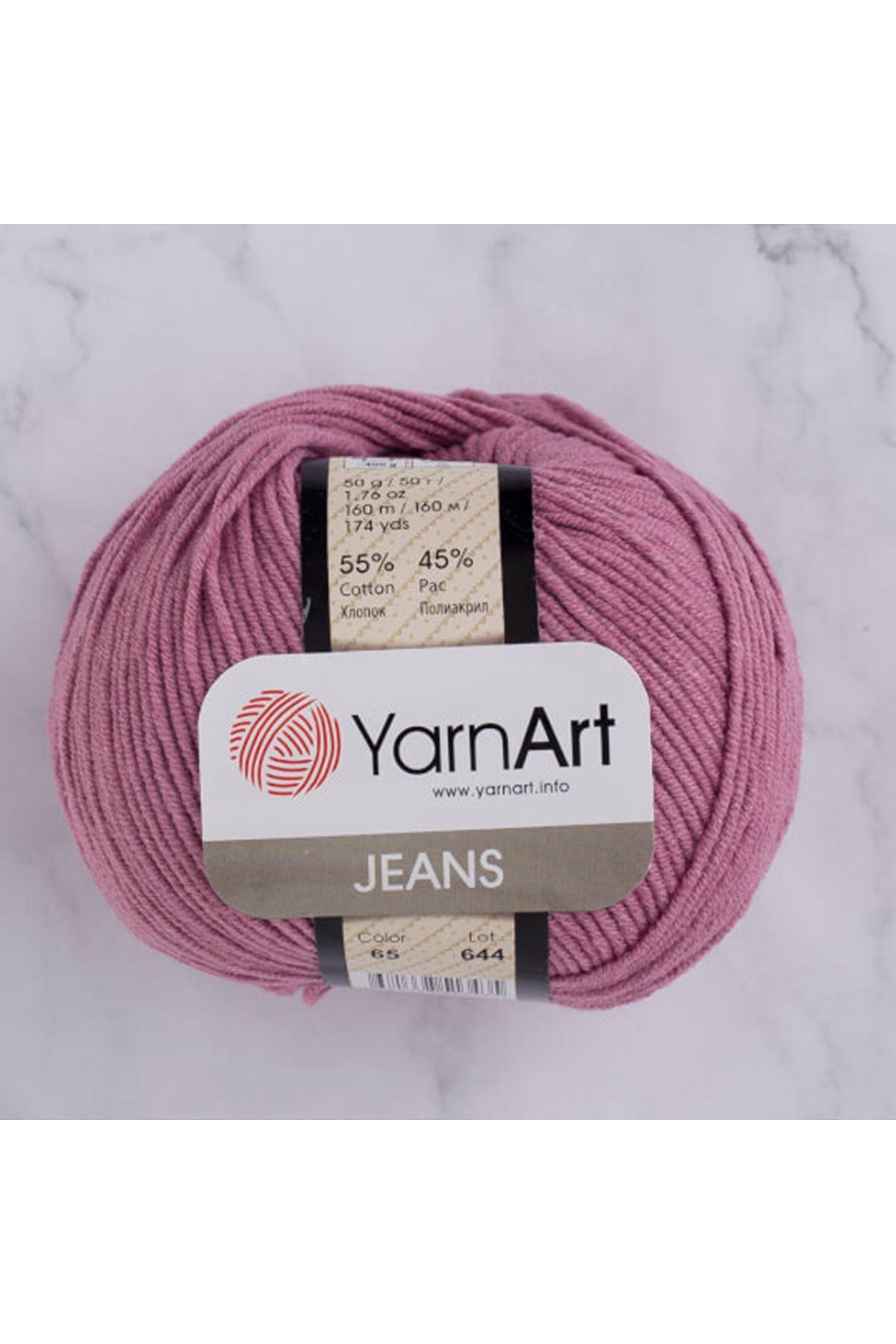 Yarnart Jeans 65 Gülkurusu