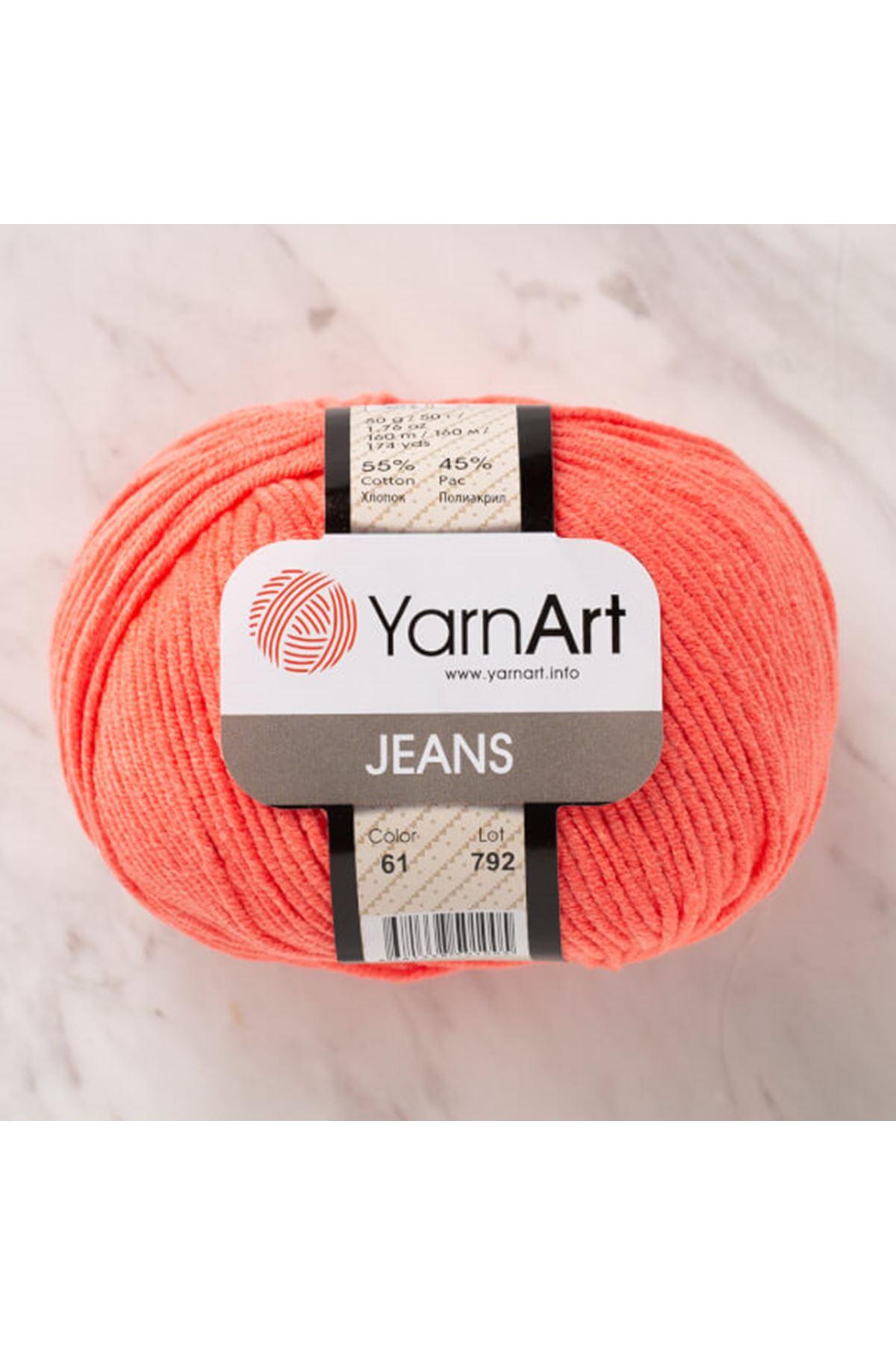 Yarnart Jeans 61 Açık Koral