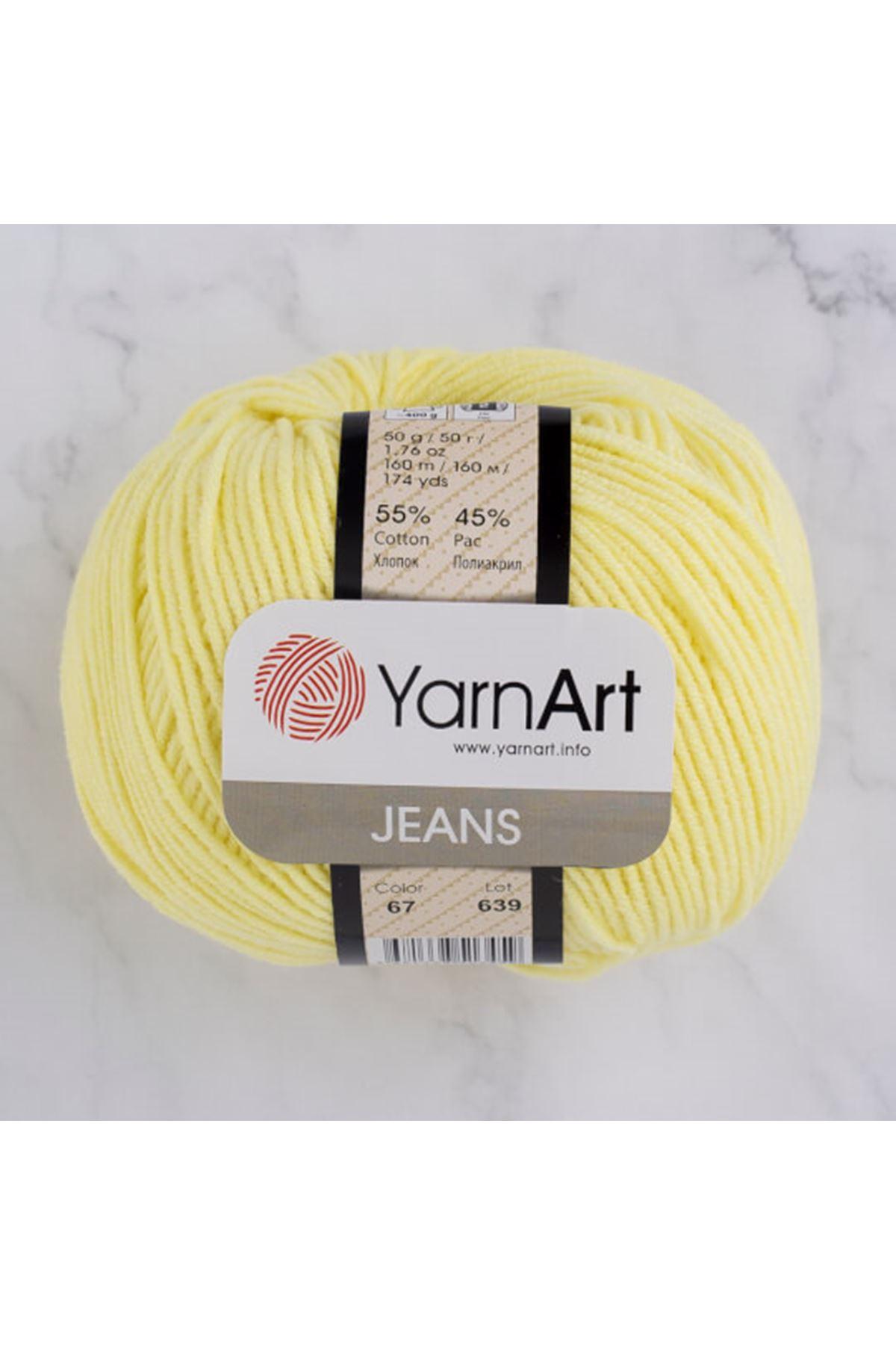 Yarnart Jeans 67 Açık Sarı
