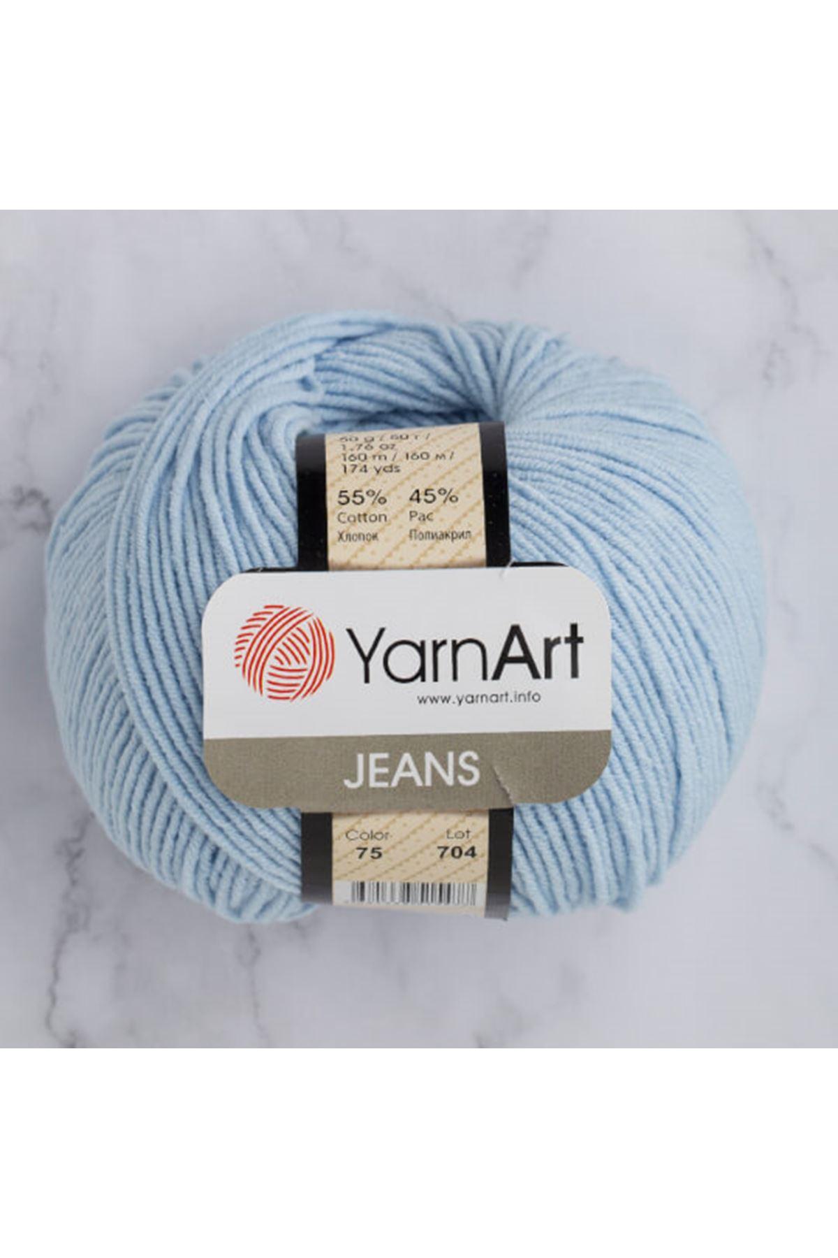 Yarnart Jeans 75 Bebe Mavi