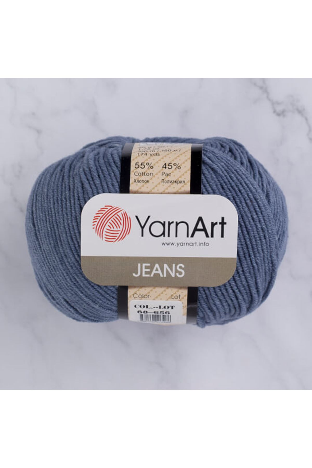 Yarnart Jeans 68 İndigo