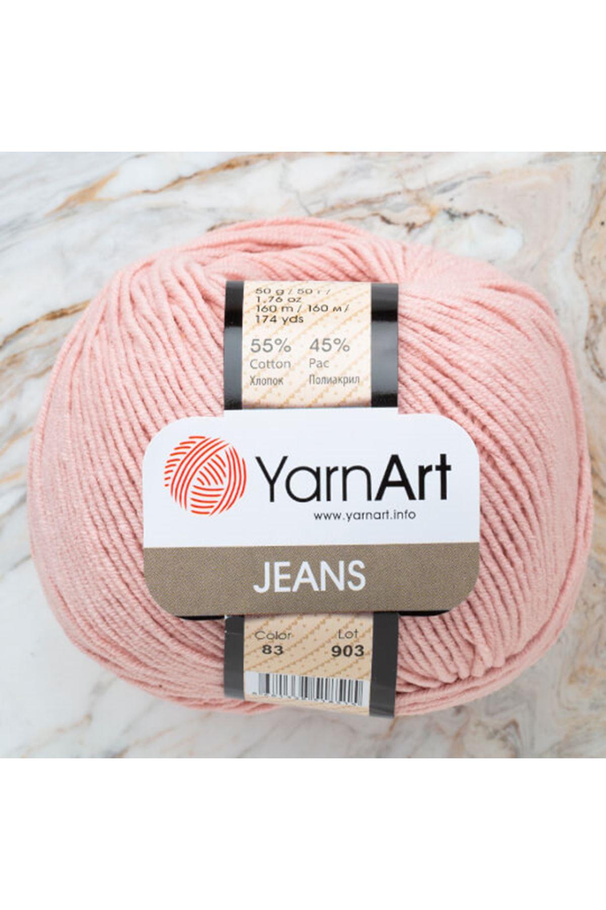 Yarnart Jeans 83 Pudra