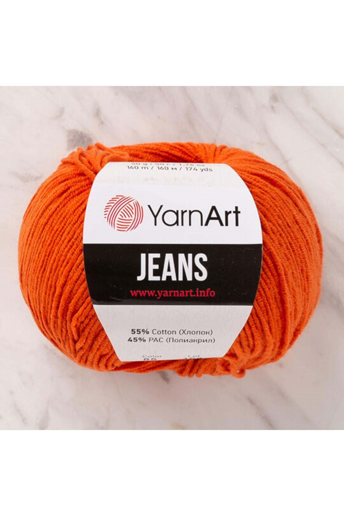 Yarnart Jeans 85 Oranj